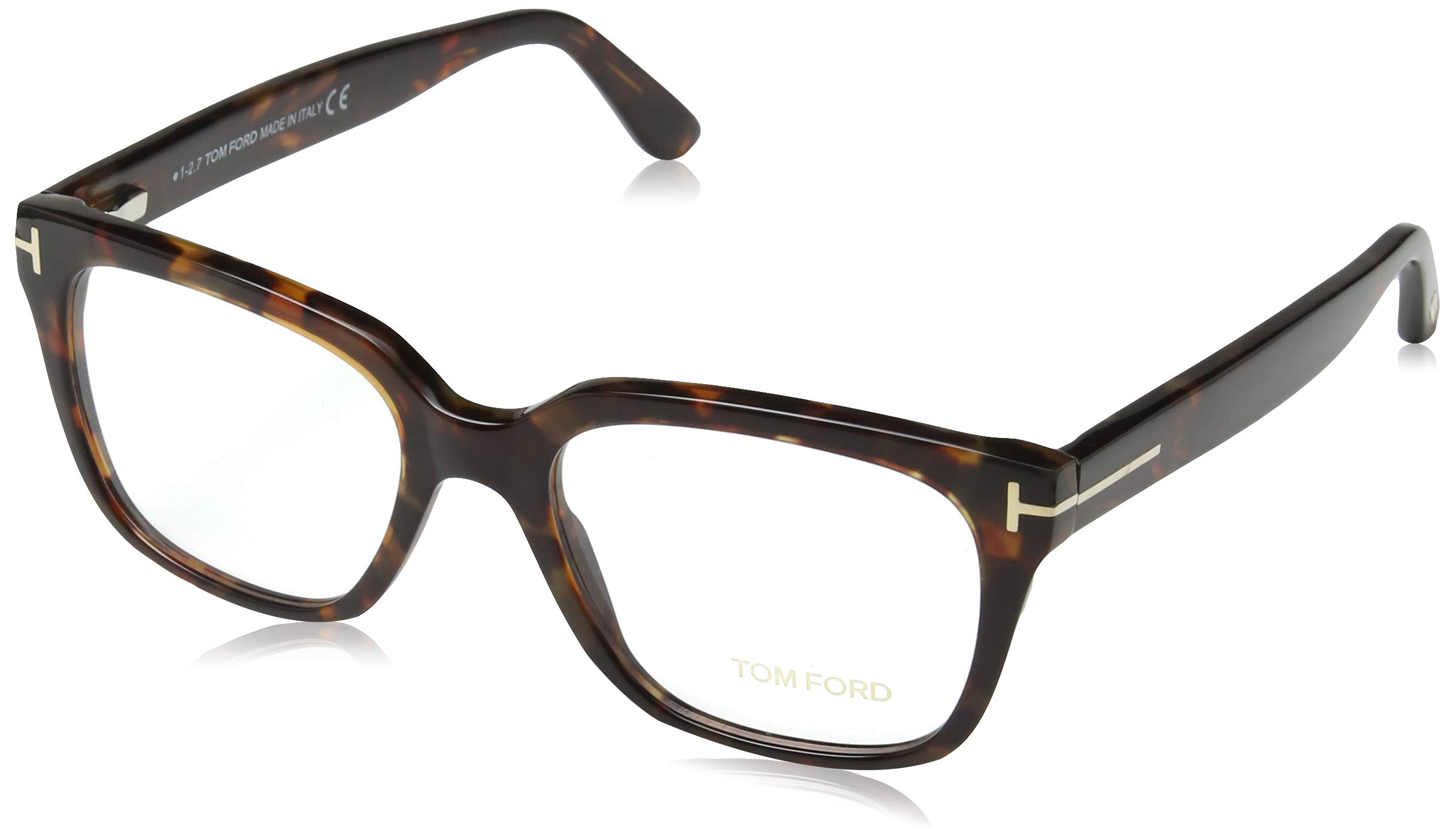 Optical SoleilMarronbraunHomme 054 Ford Frame Ft5477 53 Lunettes Tom De Ygv76ybf