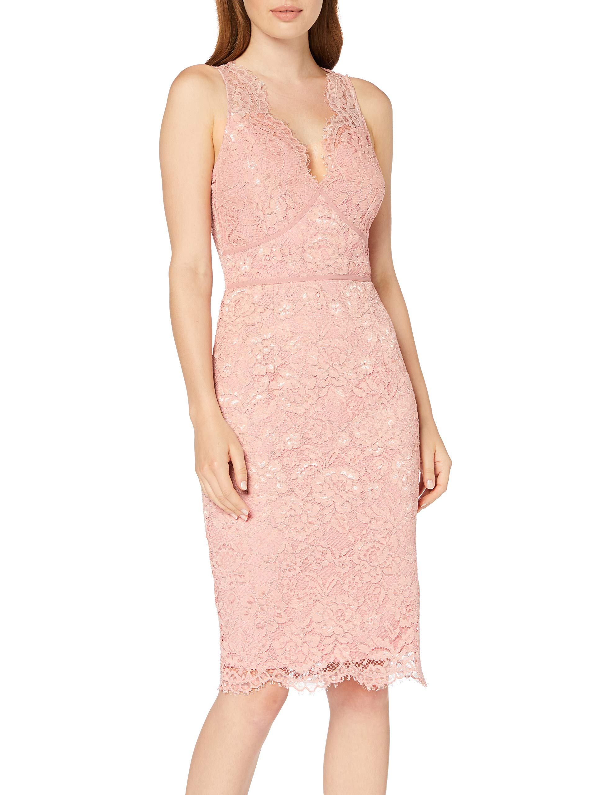 Fabricant6Femme Robe Eloise Lace Rose Soirée00134taille Little Dress Bodycon Mistress De shQCdrxt