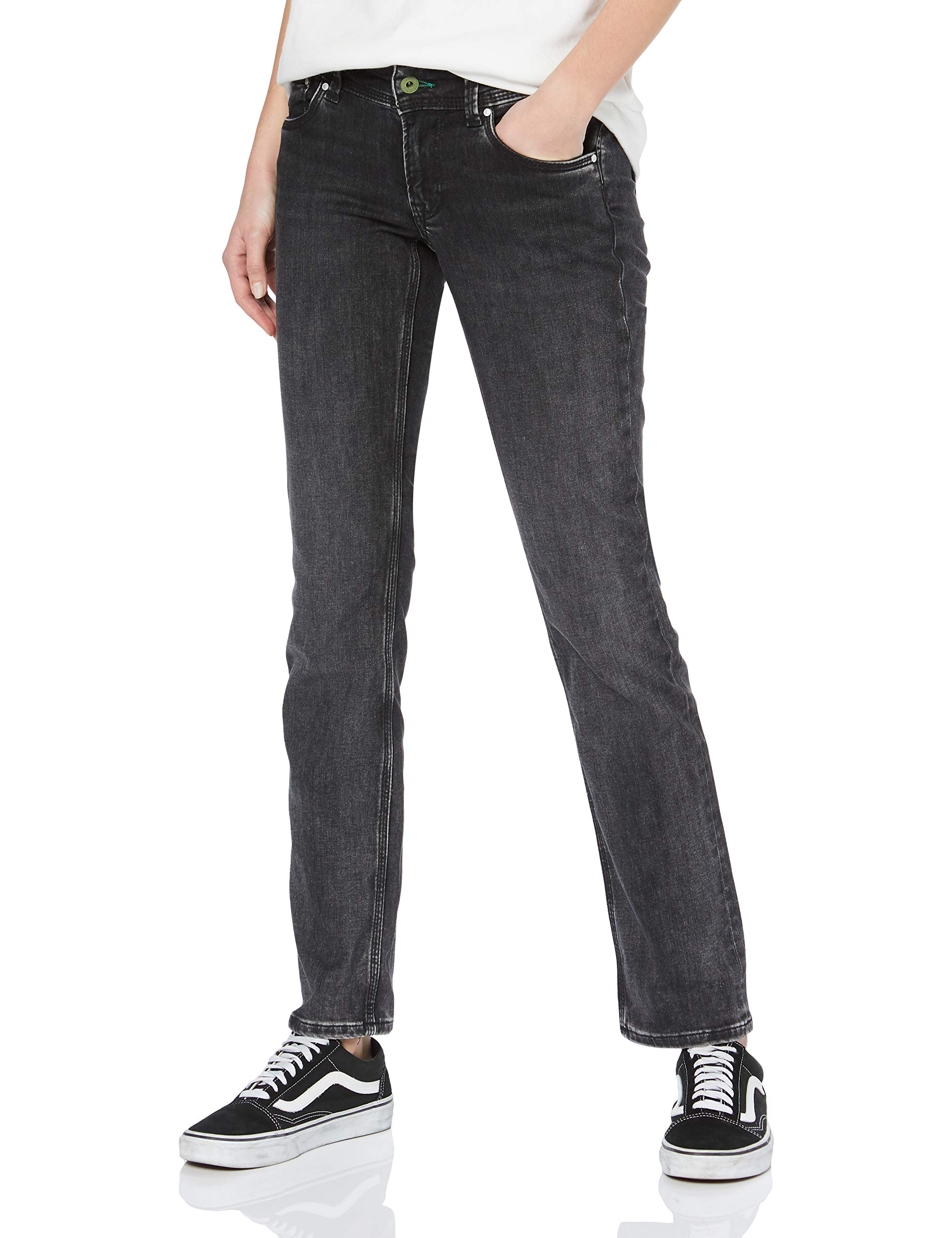 Jeans Wz7taille Fabricant Wiser DroitNoirblack l34Femme Wash Pepe Saturn Denim w24 Jean deQCxBrWoE