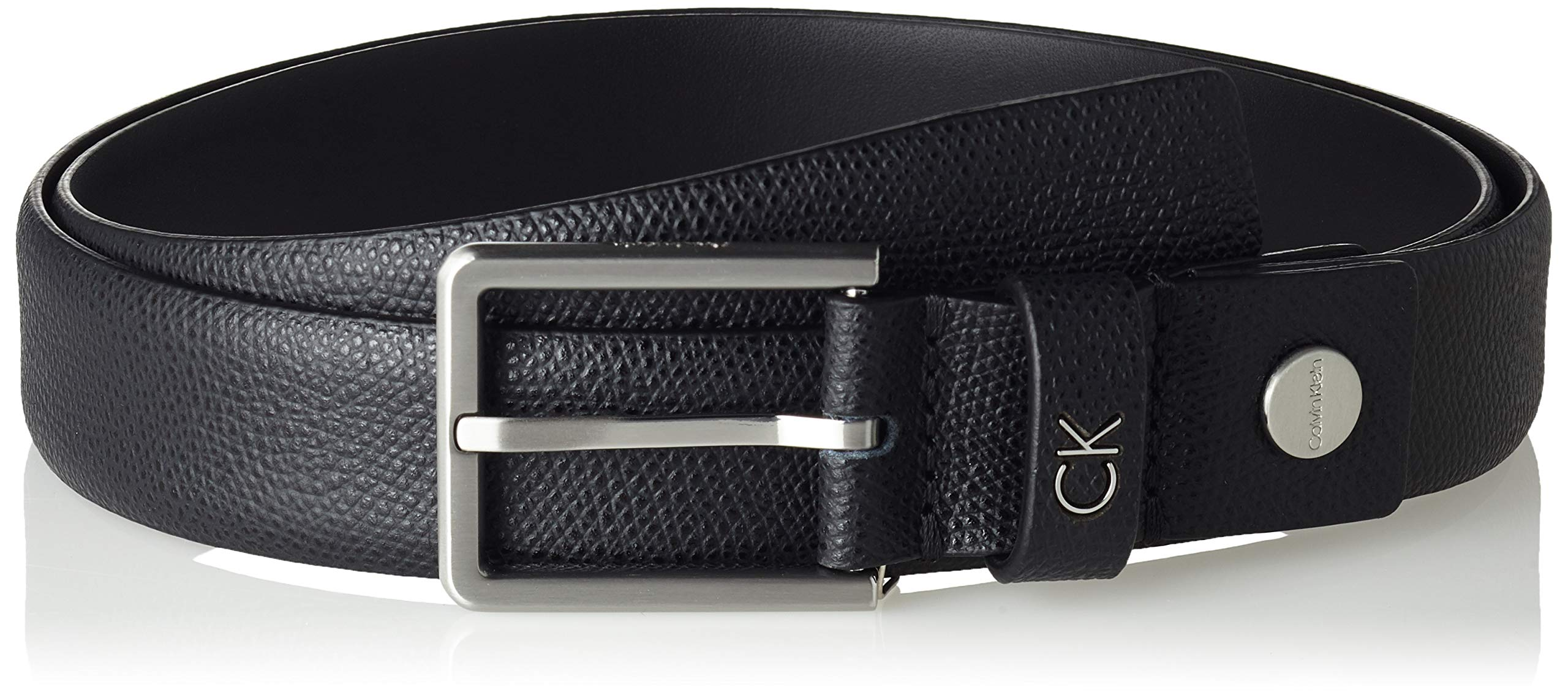 Adj Fabricant115Homme Formal Calvin palmellato 3cm CeintureNoirblack Klein Belt 001130taille 4AjL5R