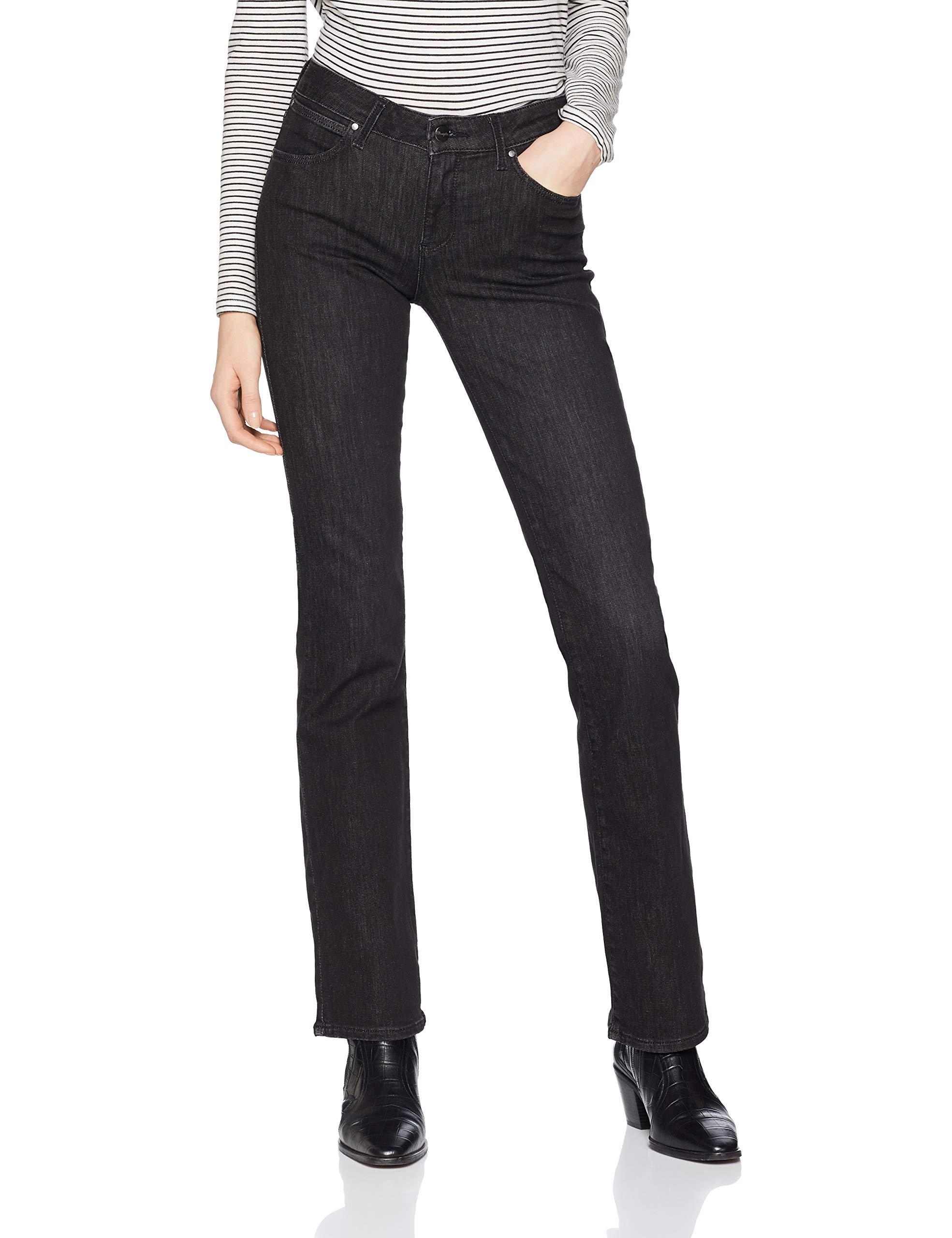 32s30w34l Bootcut' Femme Black Wrangler JeansNoirused XZOPiku