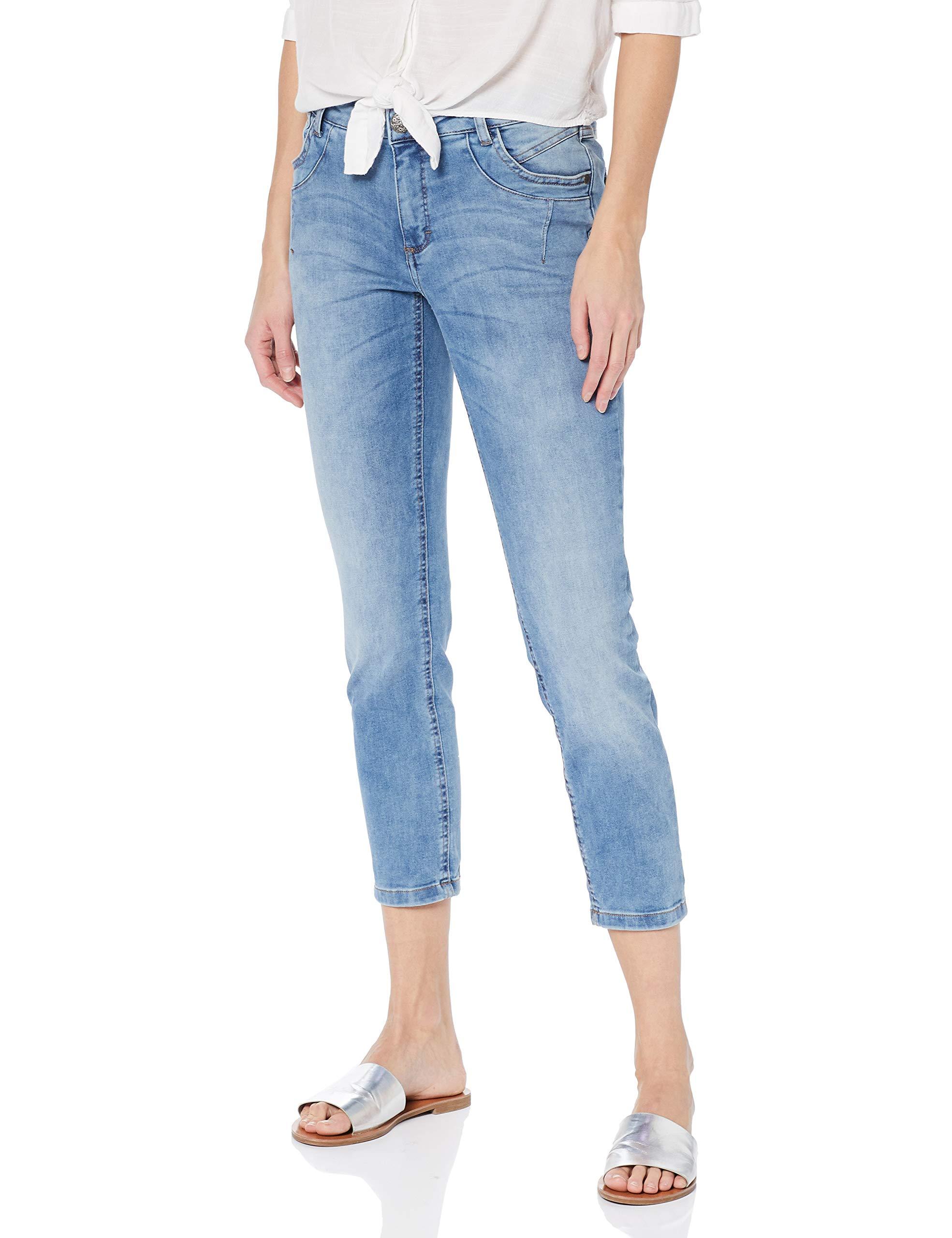 Pocket Laura Coin Knöchellang Jeans 9244taille Fabricant42Femme Julia SlimBleubleached Gina nXN0OP8wk