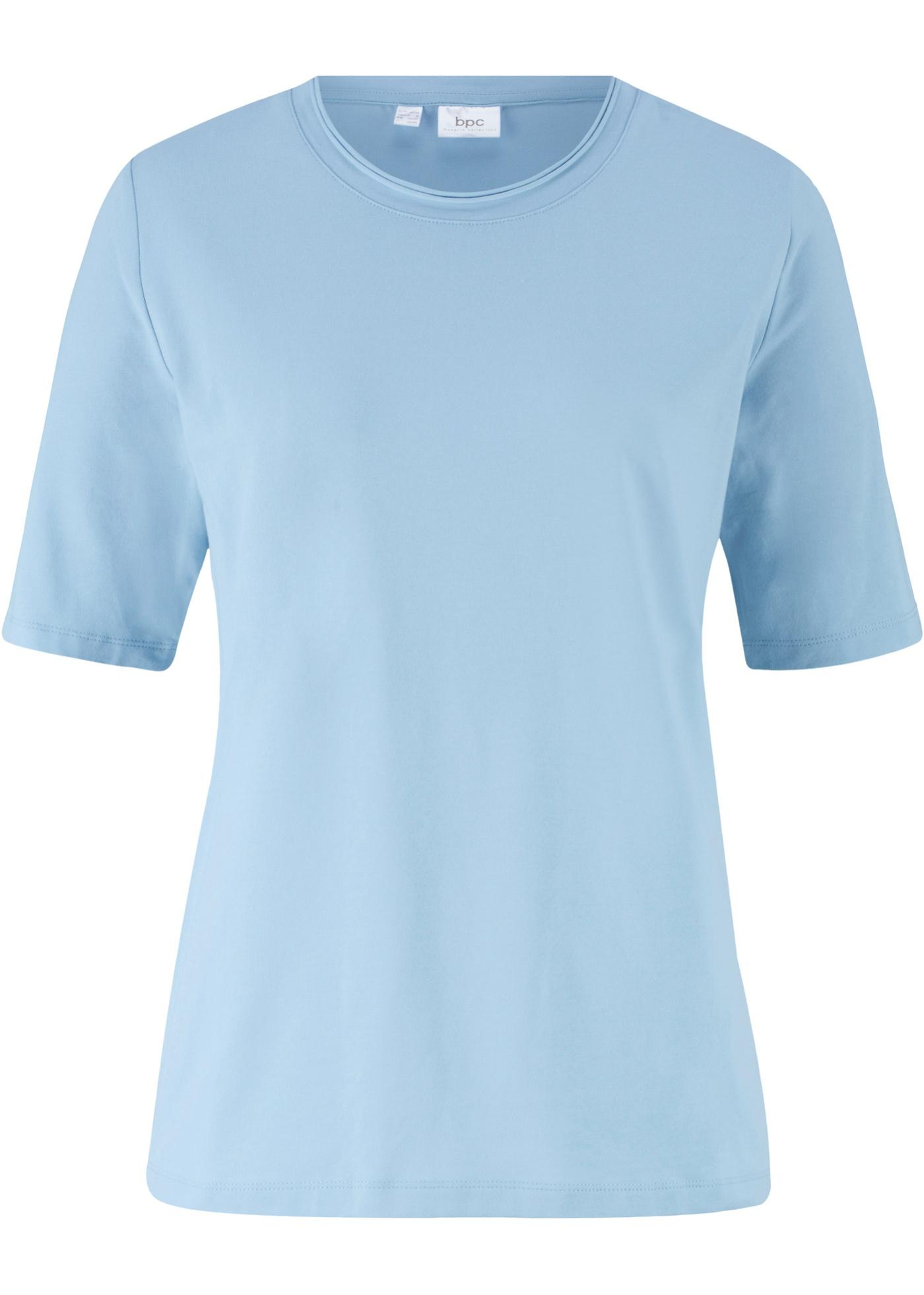 shirt Violet Bpc Bonprix Pour manches Demi CollectionT Femme TuOwkilPXZ
