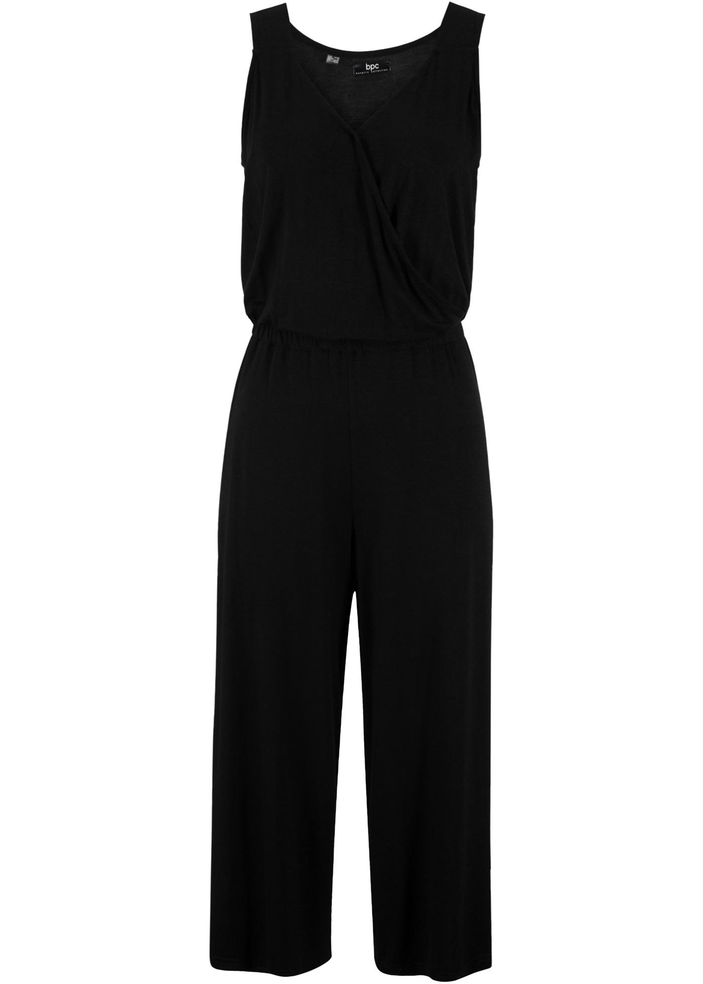 Bpc CollectionCombi Pantalon Sans Bonprix Manches Femme Noir Pour ikPuZOX