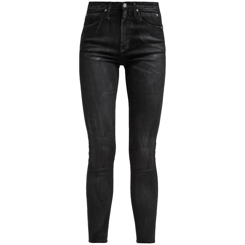 JeansNoirblack X 32l Coated30w Skinny Sculpted Klein Jeans Femme Calvin OPk80nw