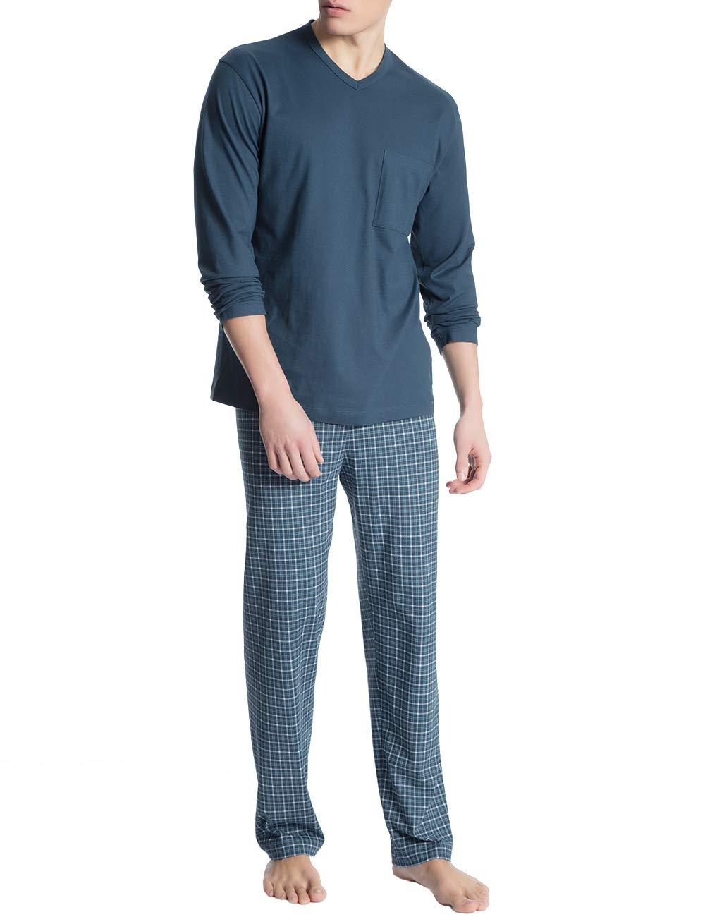 Imprint Homme Calida Wing 1 PyjamaBleublue Ensemble Relax De 517Large Teal CBoWrdxe