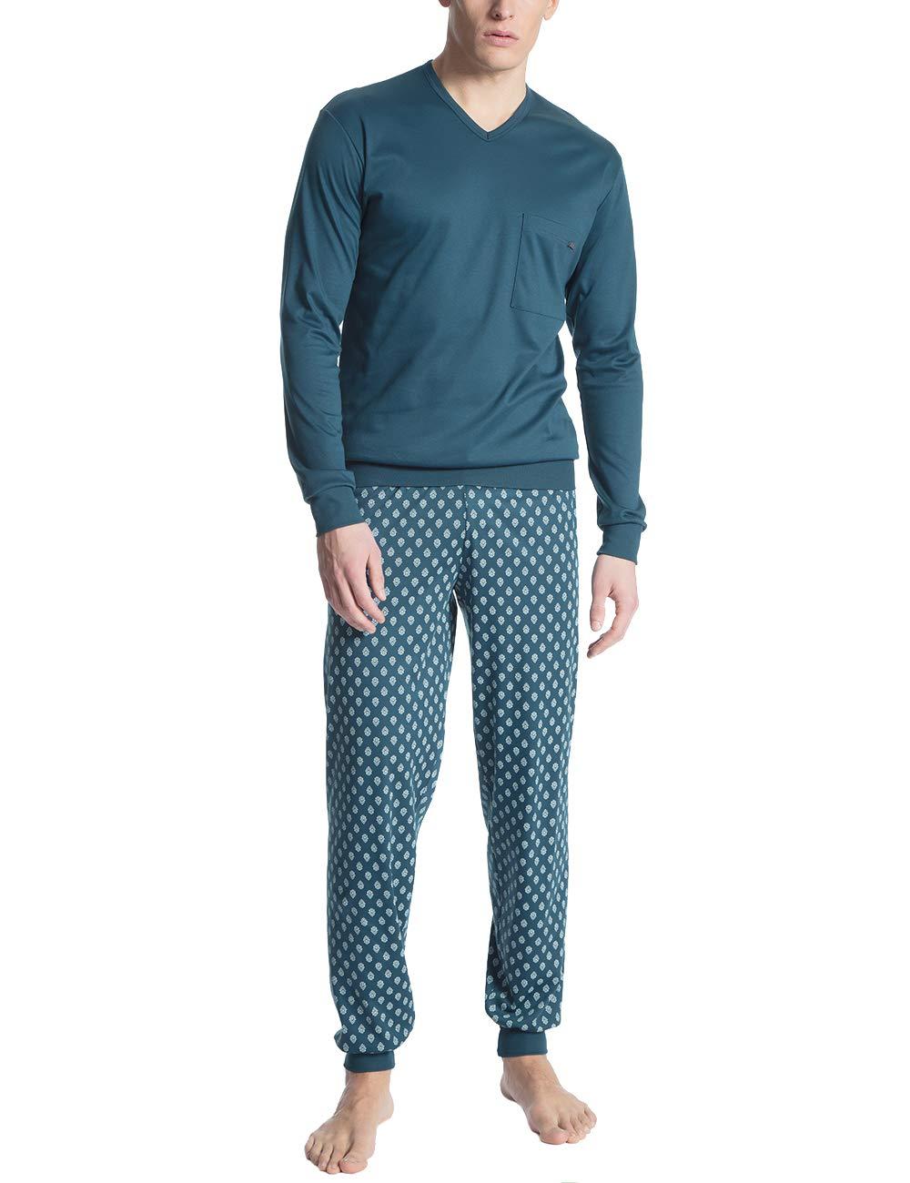 Calida De Teal 517X large Ensemble Homme PyjamaBleublue 1 Relax Wing Streamline 0m8wNnv