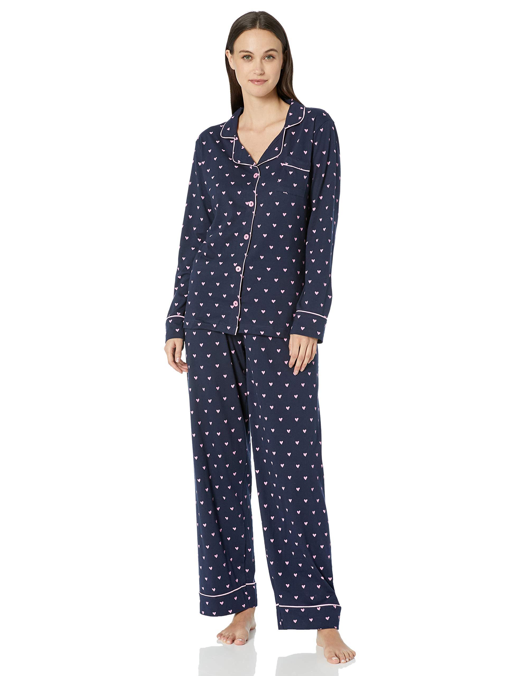 Long Sleeve Sets De Femme Blue Ensemble Hatley Little PyjamaBleupink House 400Medium Pajama Hearts By b7fyY6gv
