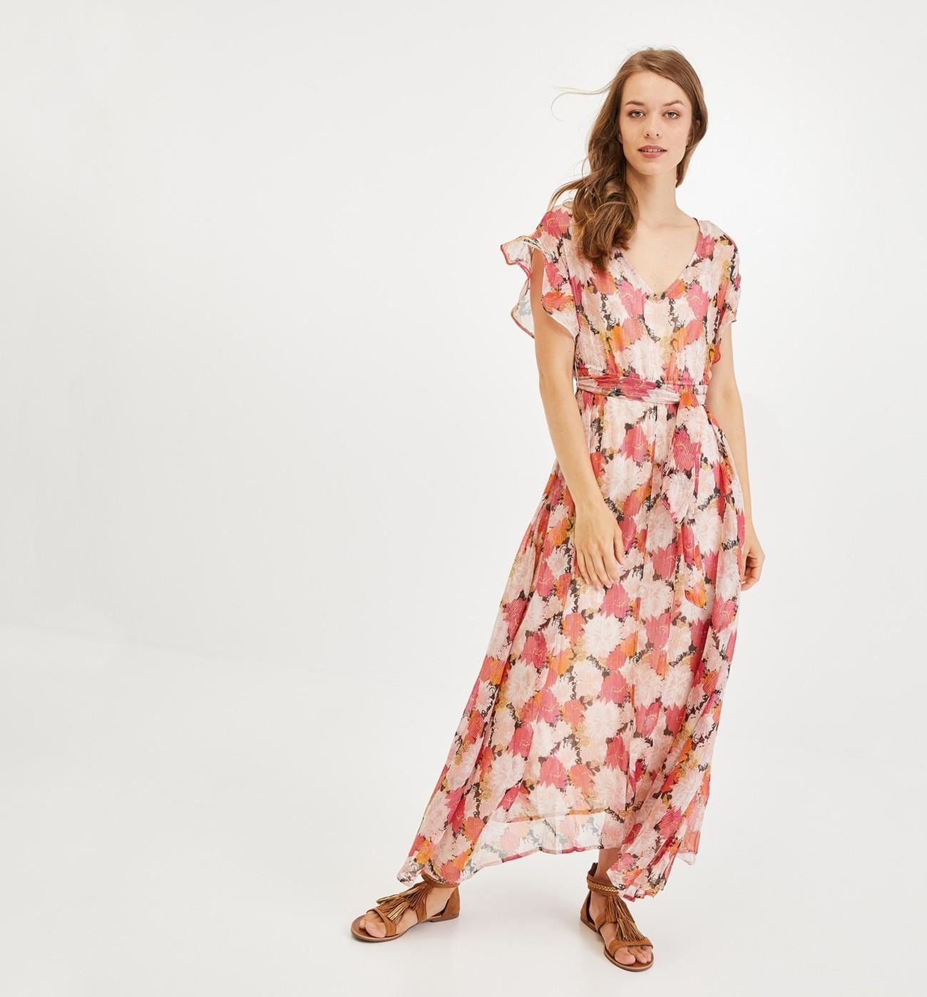 Femme Promod Robe Promod Robe En Voile Yf7ybv6g