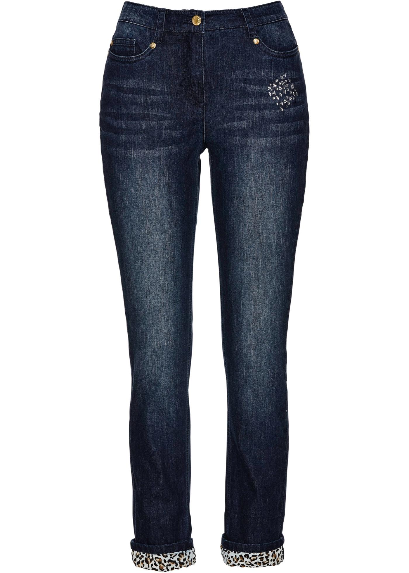 Premium Femme Avec Bleu Bpc Selection BonprixJean Pour Brillants Okn0wX8P