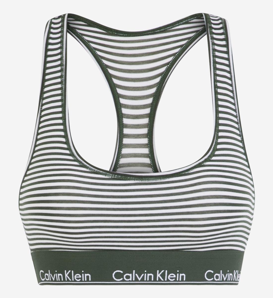 Brassière Klein Modern Blanc Calvin Cotton yv0O8mwNn