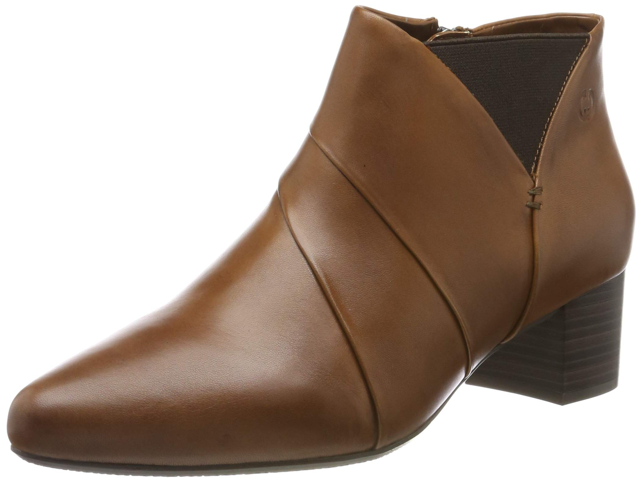 04Bottines 5 Eu FemmeMarroncognac Weber Shoes Terrassa Mi90 37041 Gerry 8nPkX0wO