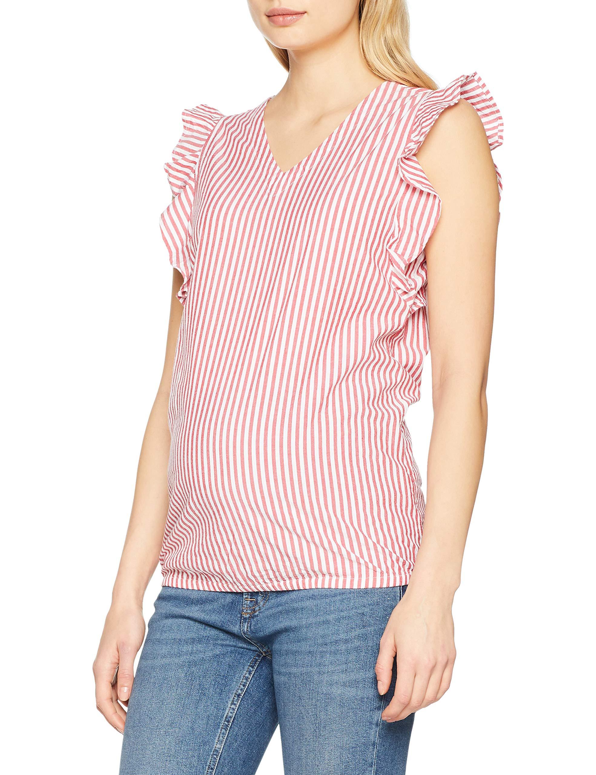 Oakey Ls De MaternitéMulticolorecrimson Blouse Stripe Noppies FabricantMFemme P12940taille Yd fb6Yy7g