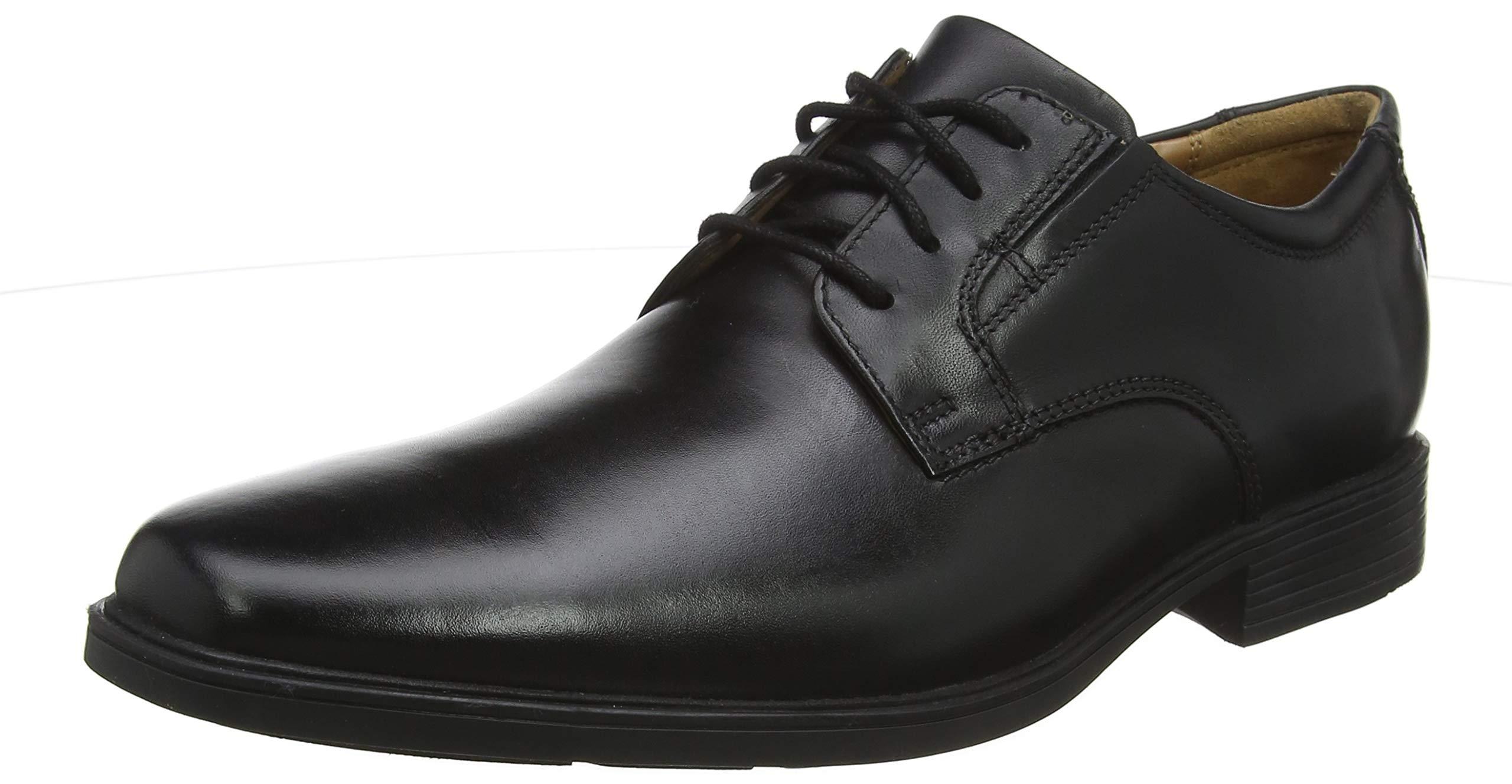 VibeDerbys Clarks HommeNoir Black Tilden Eu Leather41 rCoedxB