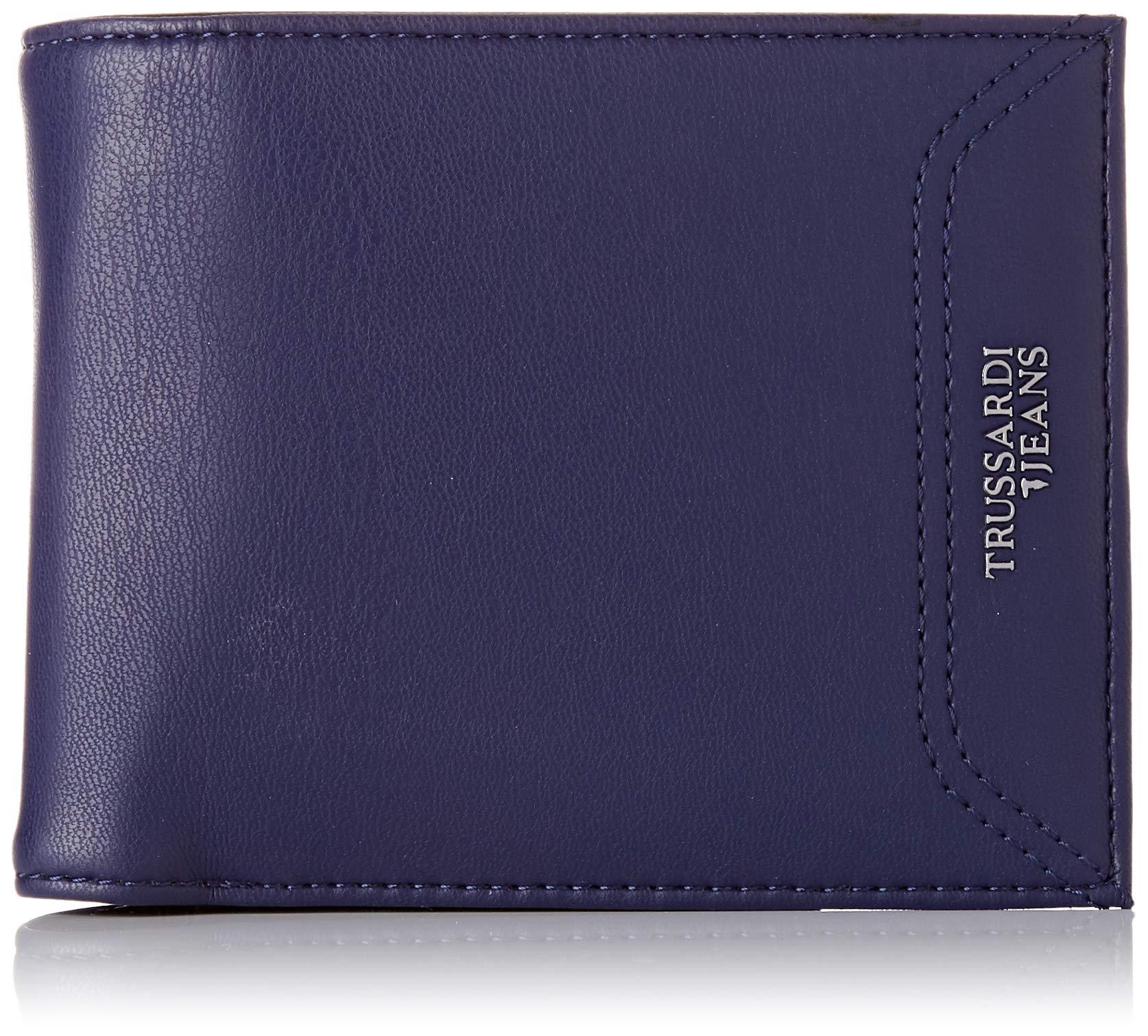 Trussardi Jeans Business X CoinPorte Essential HommeBleunavy L H monnaie Blue2x11x13 Wallet Cmw T3clK1FJ