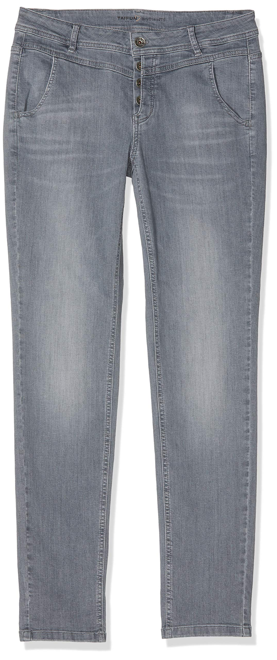 Fabricant38Femme DroitGrisgrey Taifun 19101 Jean 420014 1350040taille Denim Nn0m8yvOw