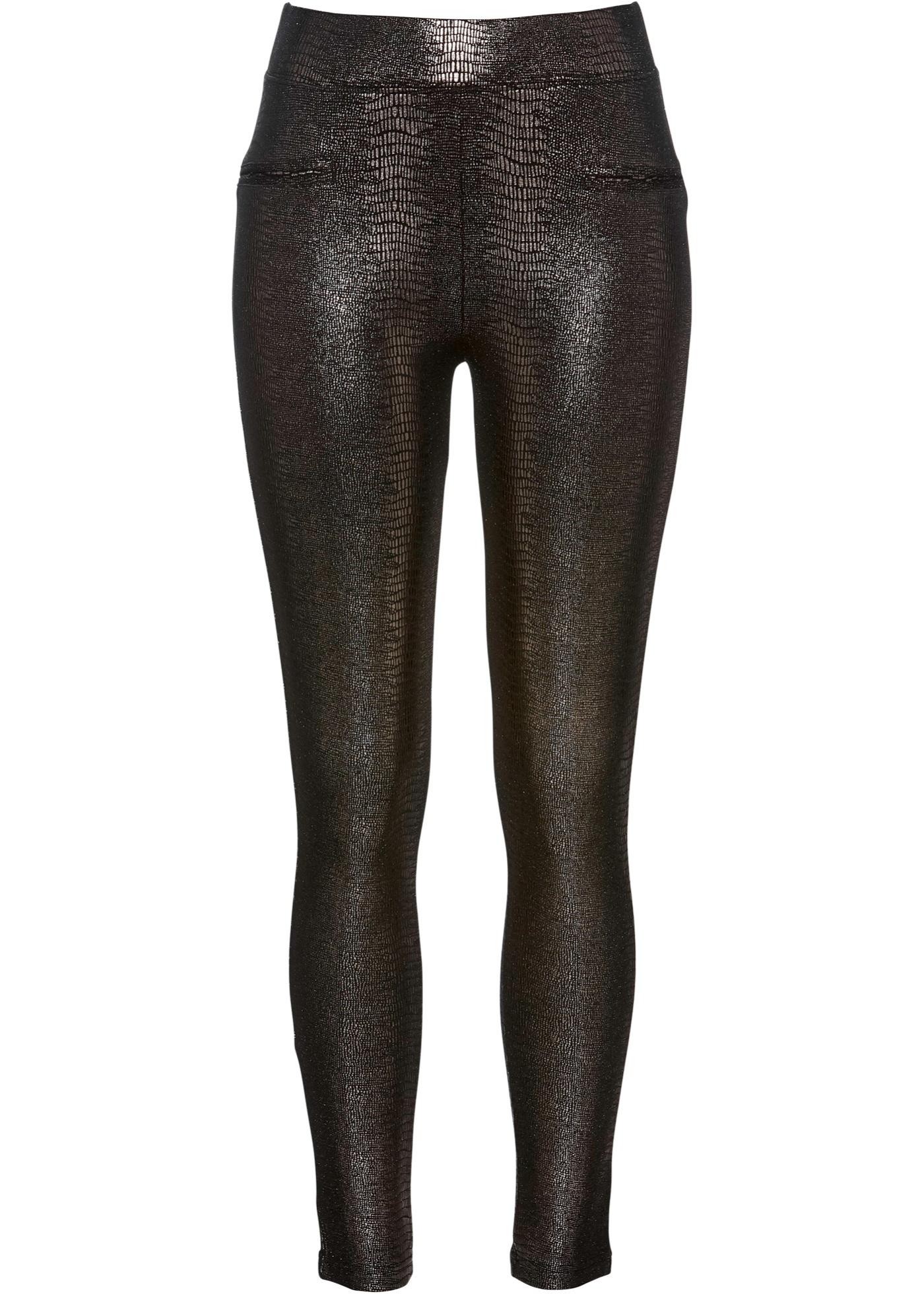 Brillant Pour Noir Bpc Femme Premium BonprixLegging Selection Nvm0w8n