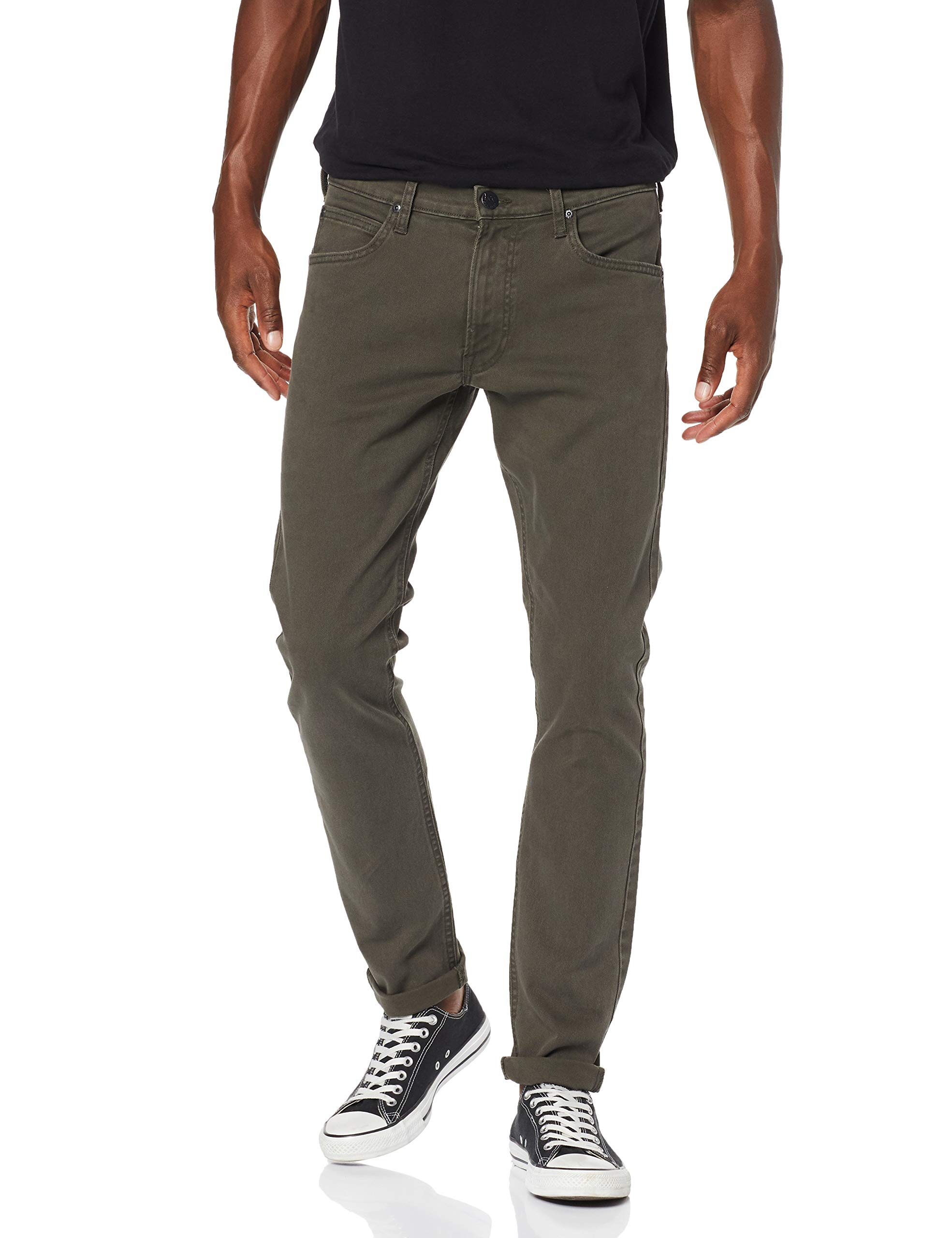 96W31 Lee Night 34Homme Fabricant31 Luke PantalonVertforest l34taille mw8nN0