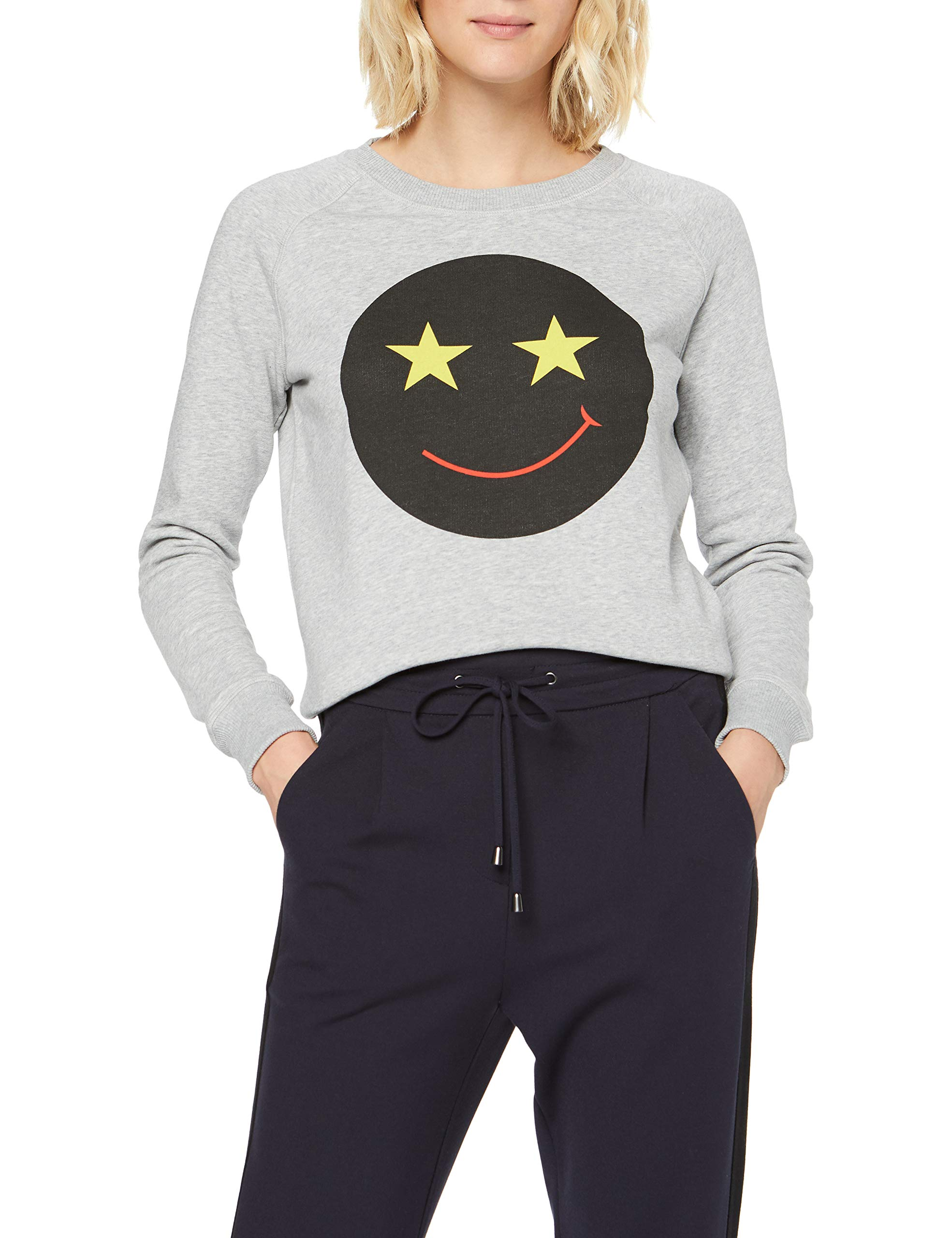 Fabricant smallFemme Mélange36taille Angie Whyred Sweat Smile shirtGrisgrey 5jqcLS3RA4