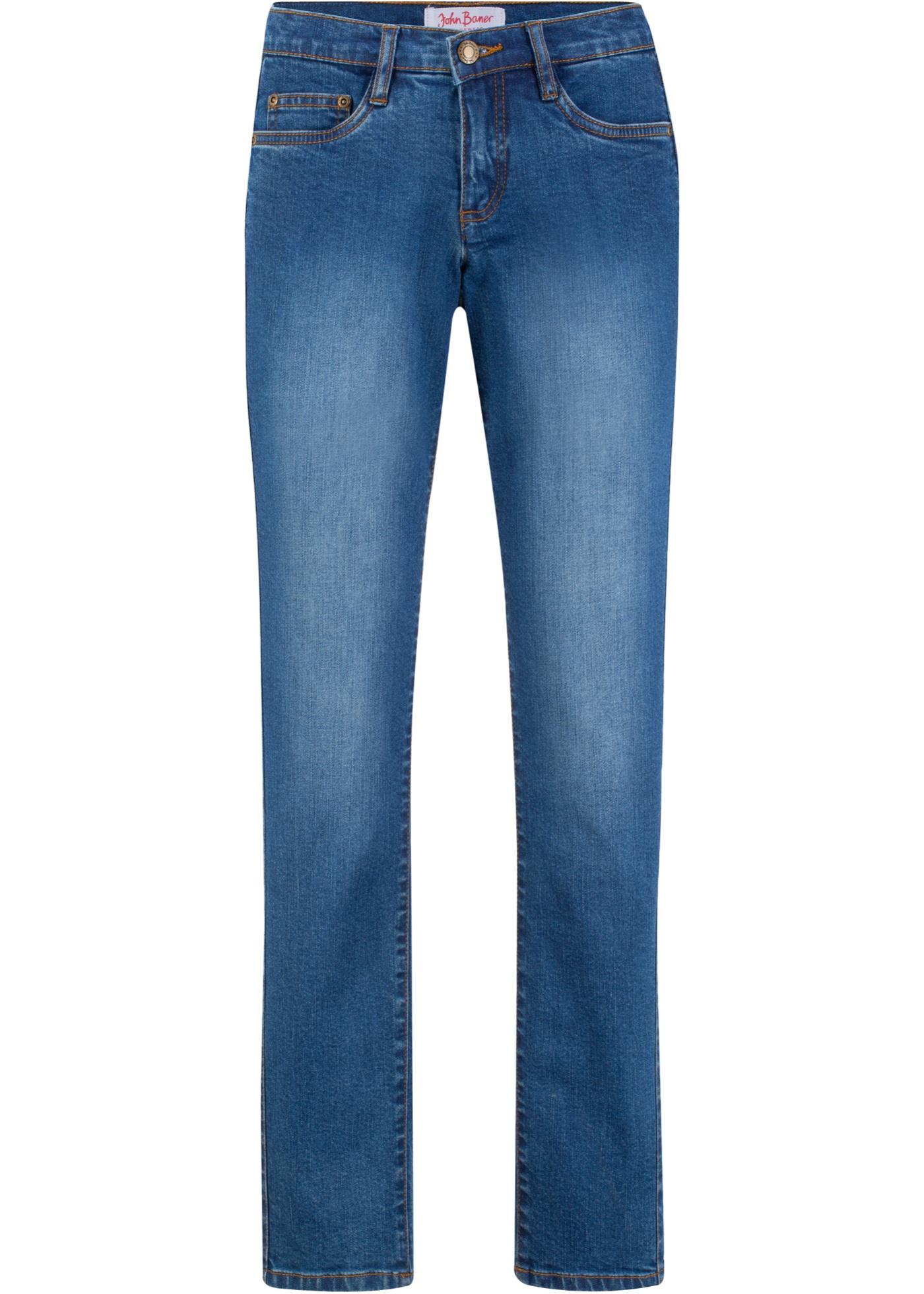 Jeanswear Authentique sellerAmincissantClassic Bleu Baner Best Femme Pour John Extensible BonprixJean 5RjLA4