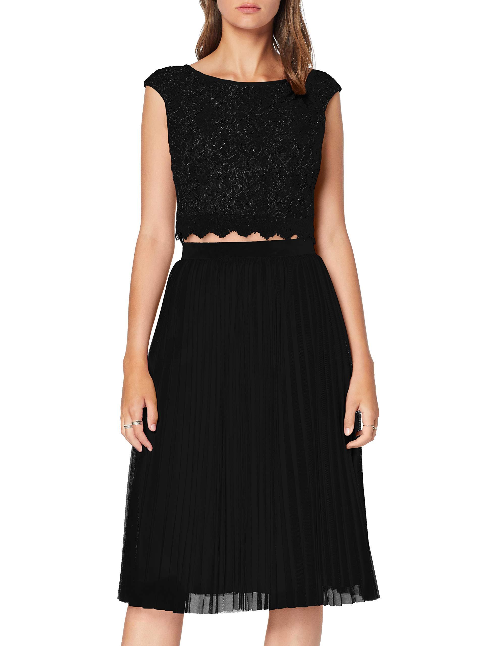 Femme small Set Jupe black Et taille LaonaCocktailla41906 12734 Top Noirblack FabricantXx FTKc1Jl3