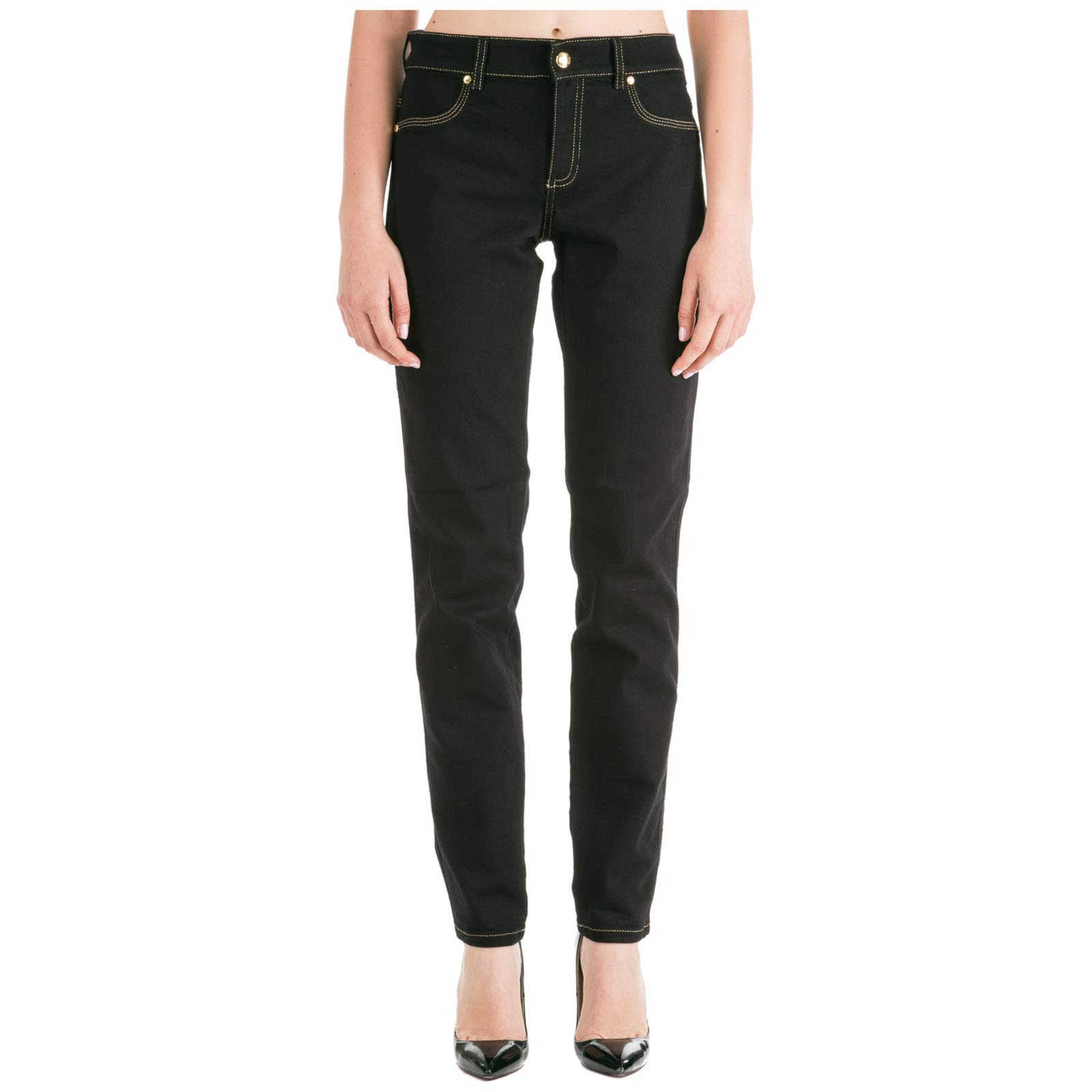 Jean 89940taille Versace Jeans Trouser Couture SkinnyNoirnero Fabricant29Femme Lady srdQBhxtC
