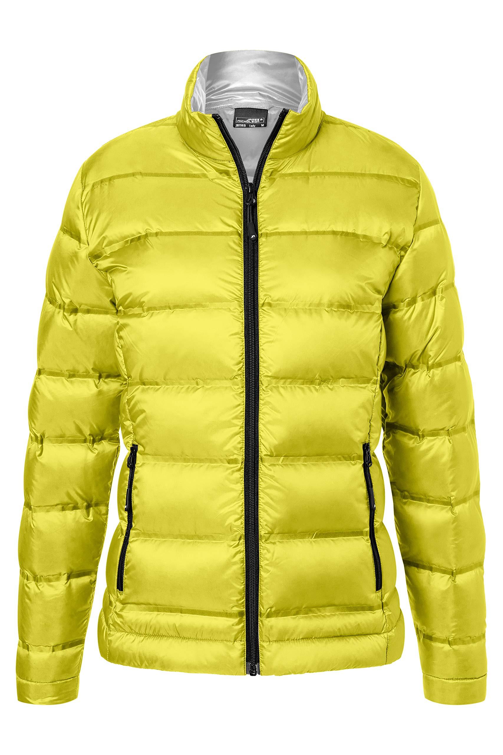 silver44taille largeFemme Jamesamp; Jacket BlousonJaune Nicholson Ladies' Down FabricantXx Yellow b76yfg