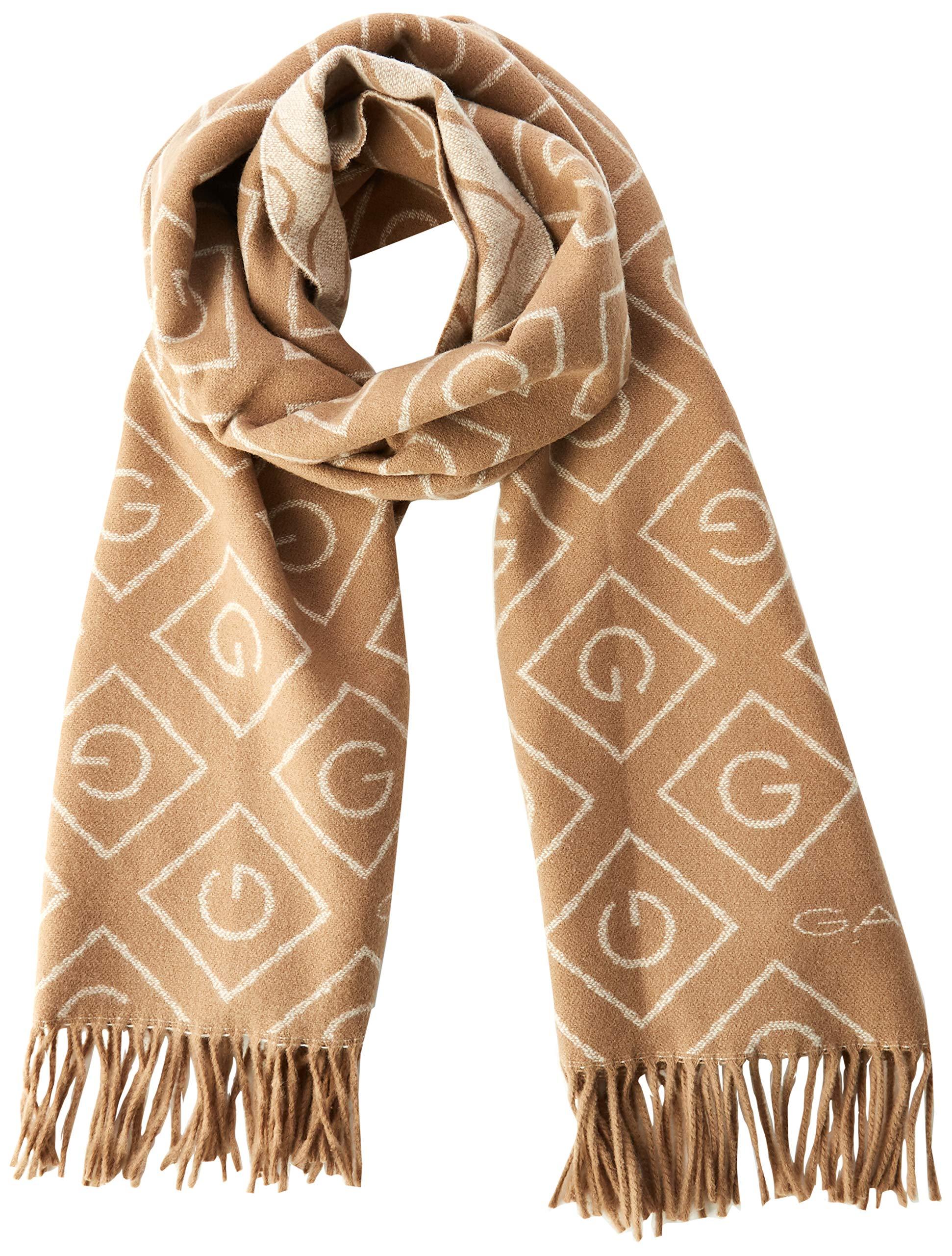 FabricantOversizeFemme Khaki 213Uniquetaille D1G Wool Gant Scarf EcharpeBeigewarm hsQxBoCtrd