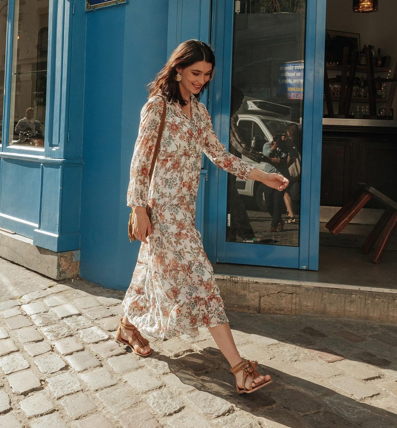 Femme Longue Femme Robe Robe Longue Promod Promod Robe Promod IyYb7vf6g