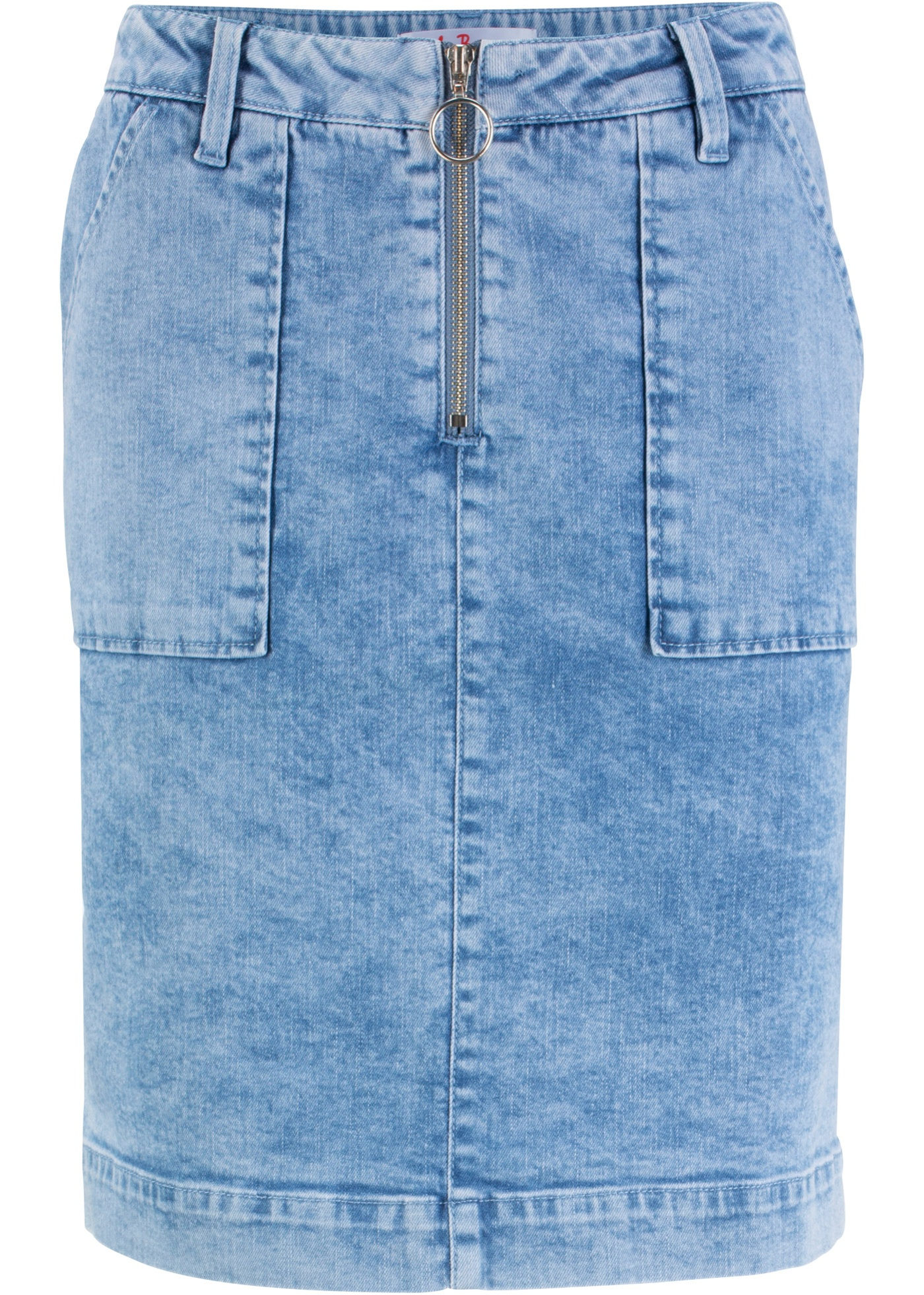 Baner Bleu John Extensible Jeanswear Jean En Femme BonprixJupe Pour TZXiuOkP