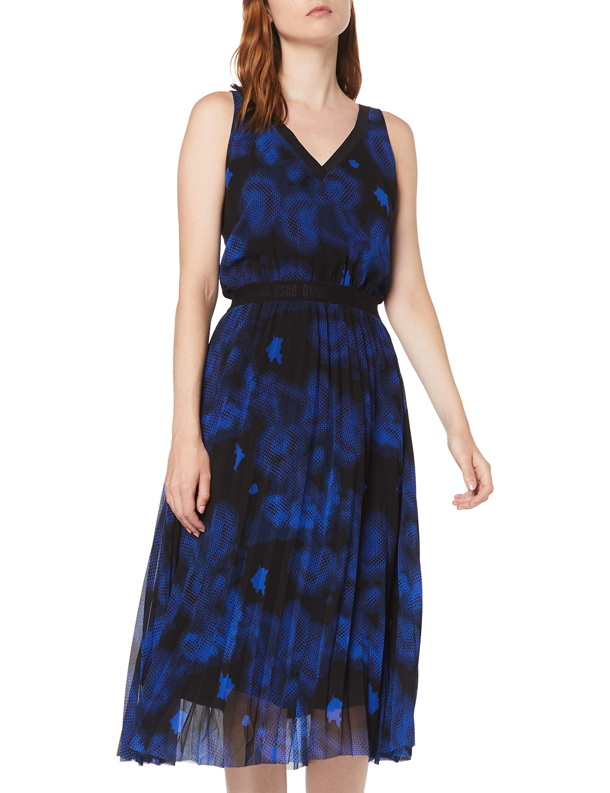 Designed RobeNoirblack Aop royal Q Fabricant38Femme By s 2004774004 Blue 99a140taille xCoderWB