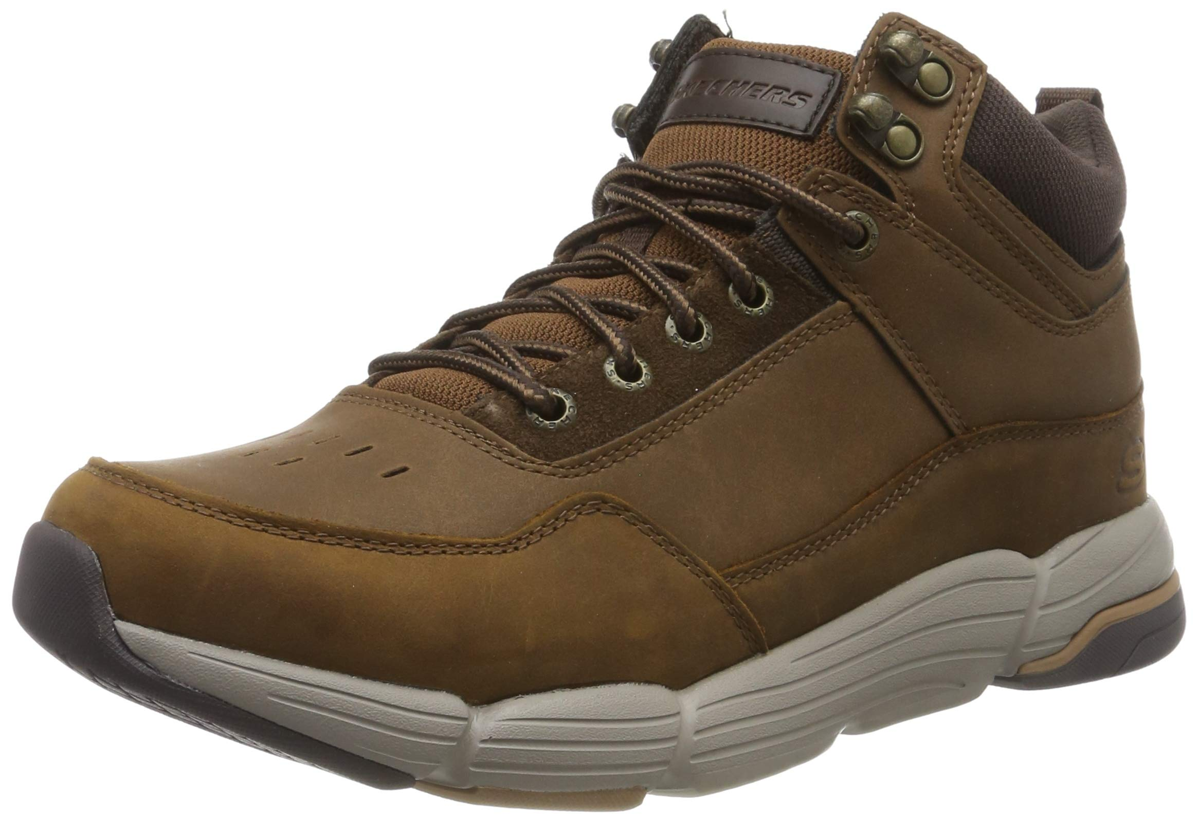 Brown MetcoBottesamp; Cdb39 Skechers Classiques 5 Eu marrondark Bottines Homme Leather doexCB