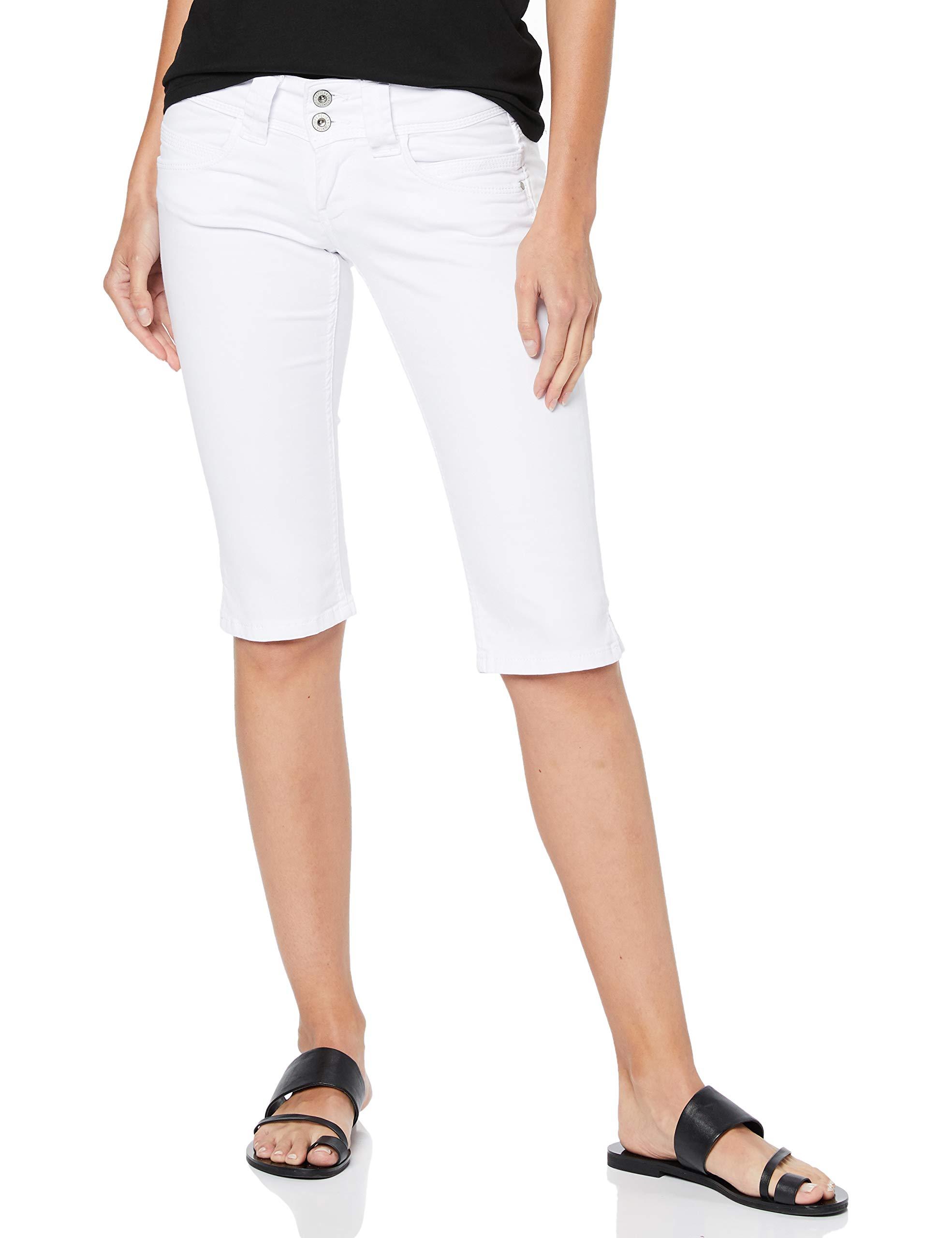 CropShort Optic Venus WhiteFr38taille Jeans FemmeBlancblanc Pepe Fabricant27 nwmN8v0O