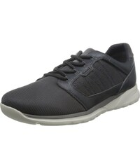 Geox U Walee B, Sneakers Basses Homme, Gris (Anthracitec9004