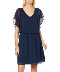 Naf Naf KENR34D Robe Femme, (Bleu Marine 567), Small (Taille Fabricant:S)
