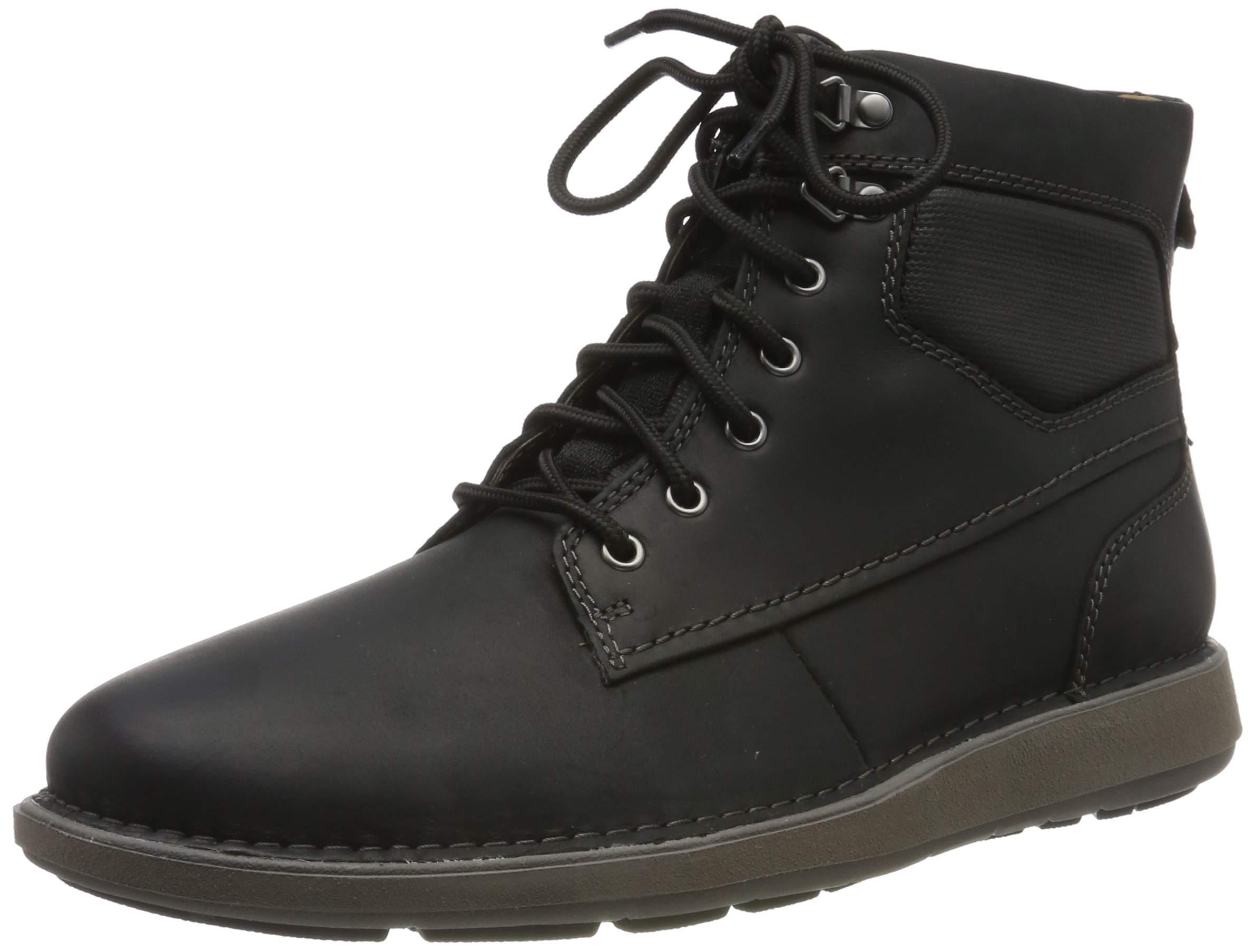 Black HommeNoirblack Leather Eu Classiques Leather44 ClarksBottines QrxCtshd