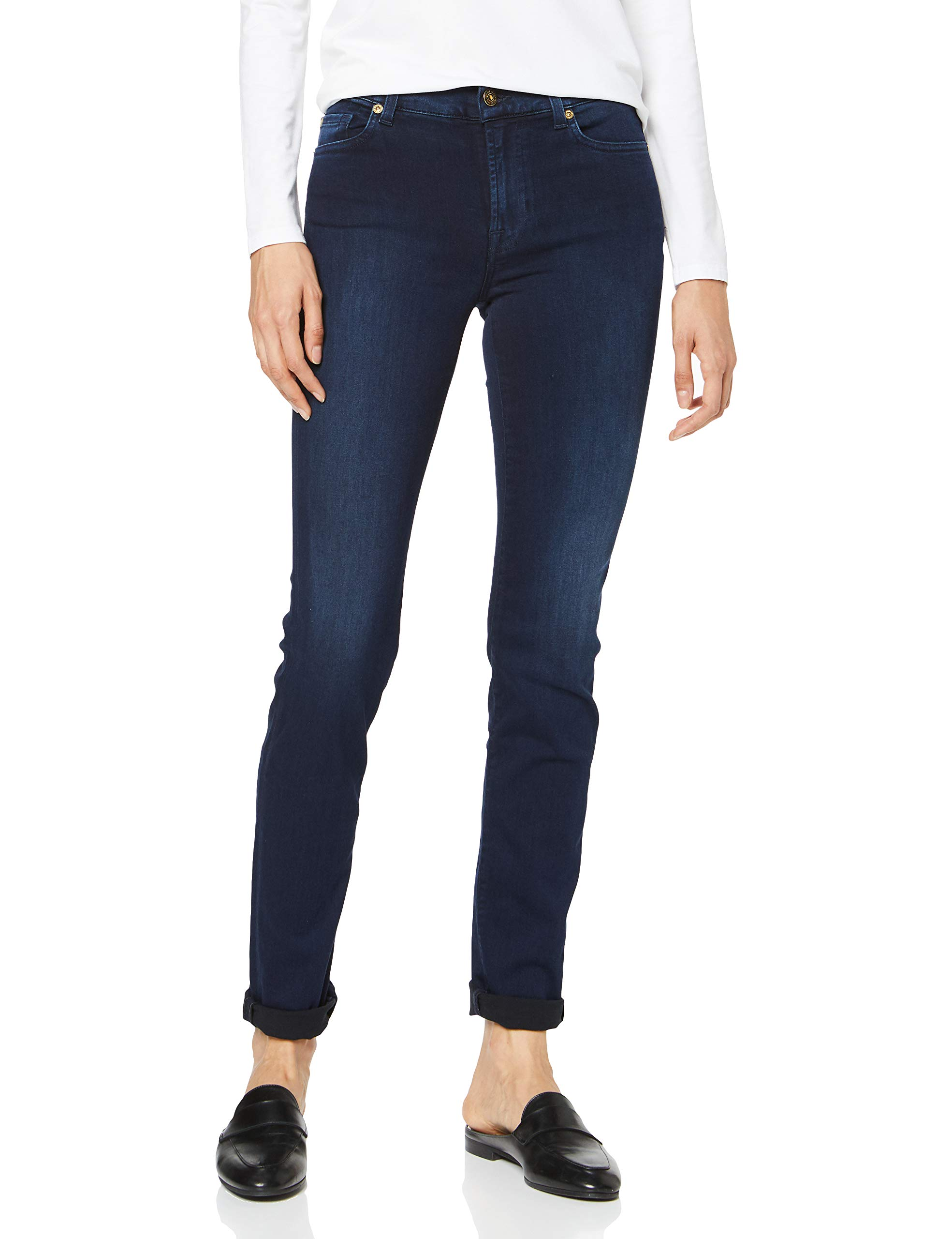 For Fabricant26 All 7 325Femme BuW26 Jean SlimBleudark Mankind Blue Rozie l33taille oCxBde