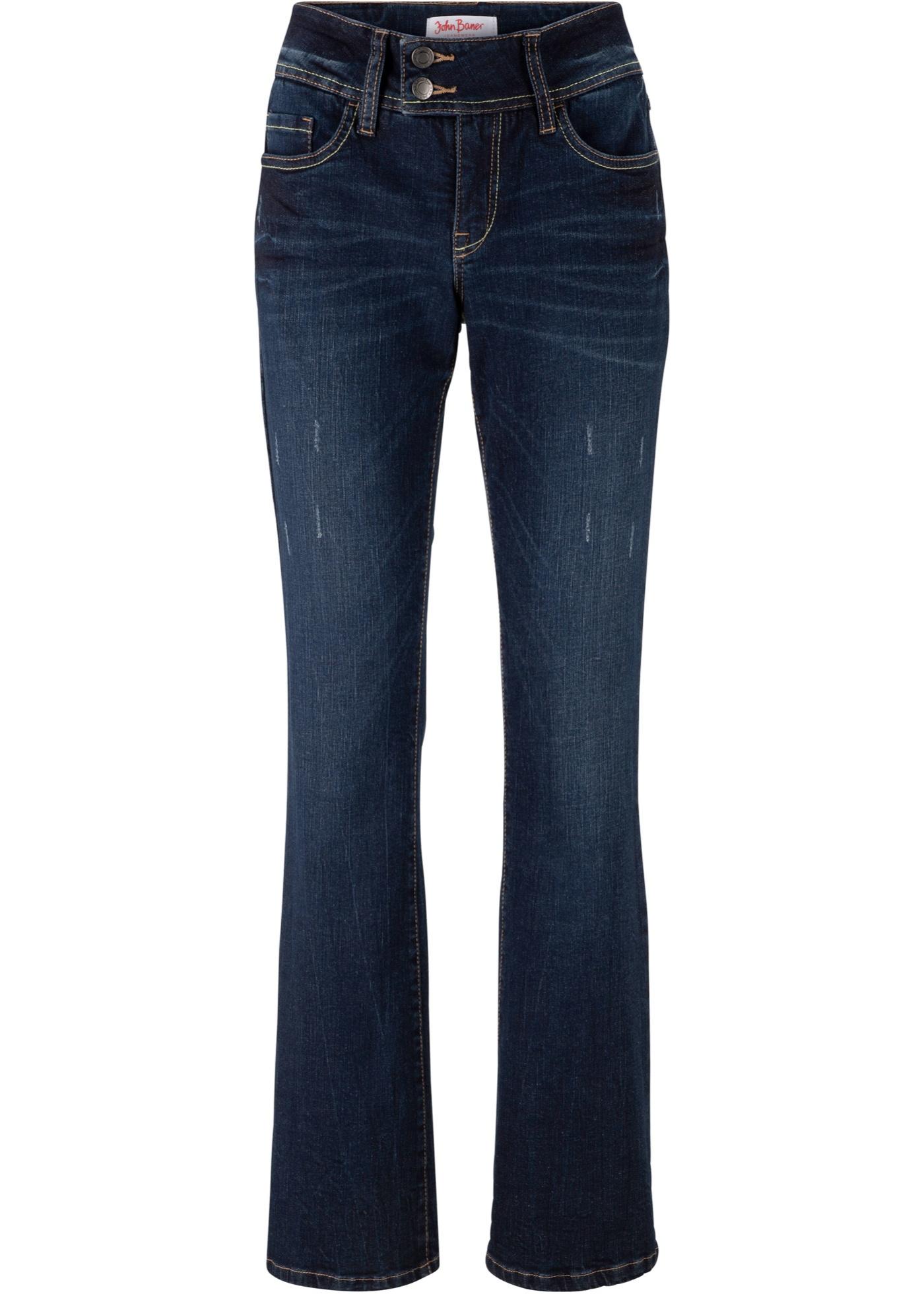 Bleu Authentique John Bootcut Pour Femme Jeanswear BonprixJean Extensible Baner Ok0XN8nwZP