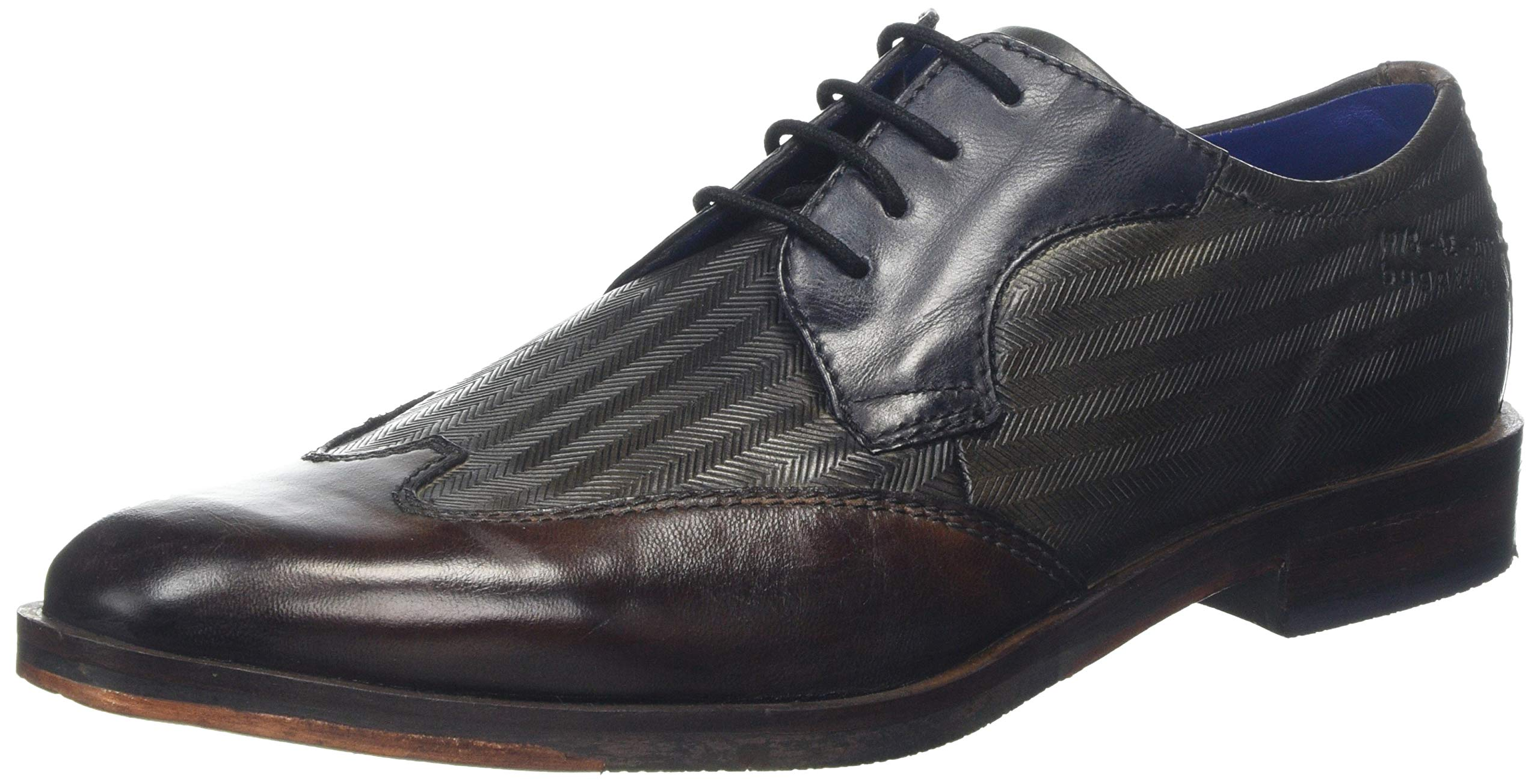 611144 311528113535Derbys Bugatti Eu HommeMarron Grey Brown dark 8mwNn0v