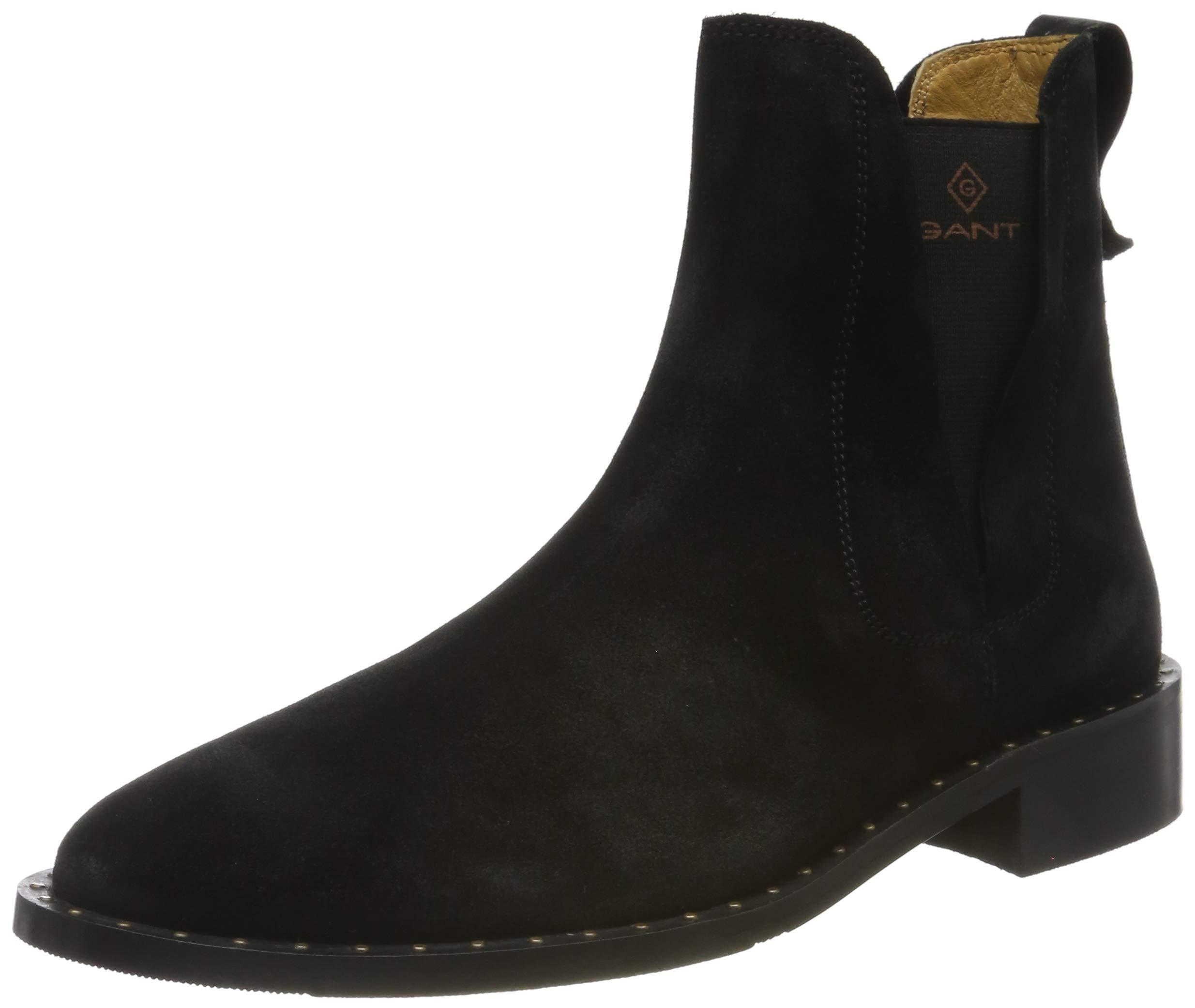 HamptonChelsea Gant Boots Eu G0038 FemmeNoirblack 8n0PXwkO