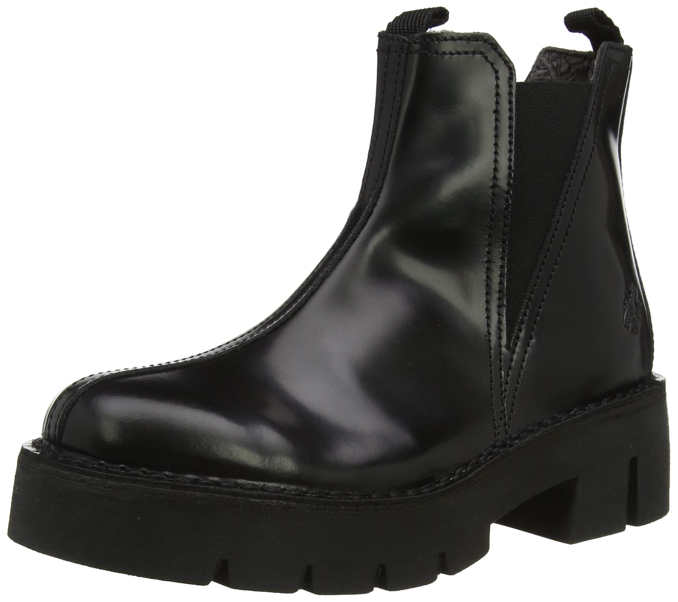 FemmeNoirblack Boots Fly Baco008flyChelsea Eu 00041 London pUSVqMz