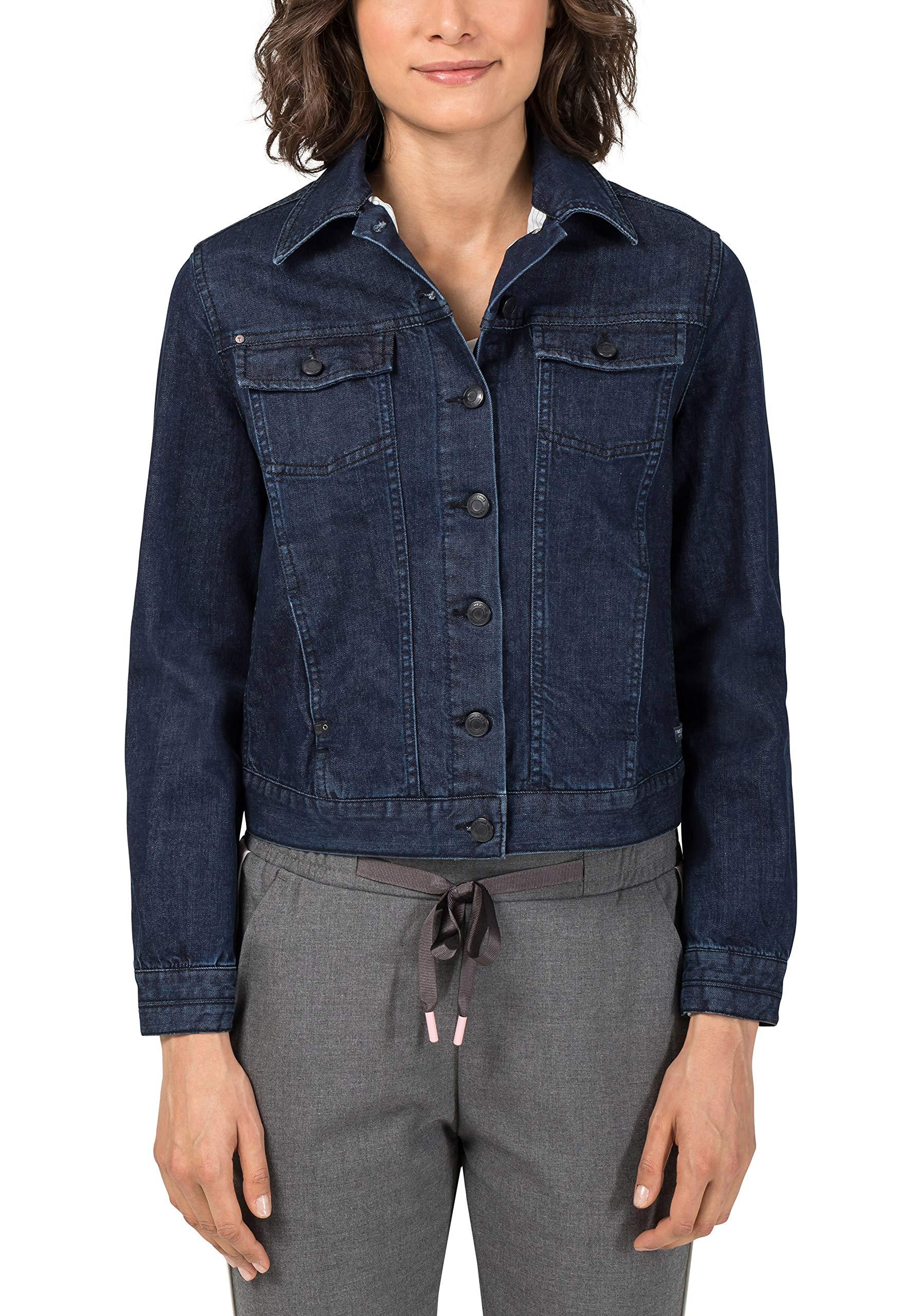 Blue JeanBleunight En Timezone Brushed FabricantX Jacket Wash smallFemme Denim Veste 342534taille KJT3ulF1c