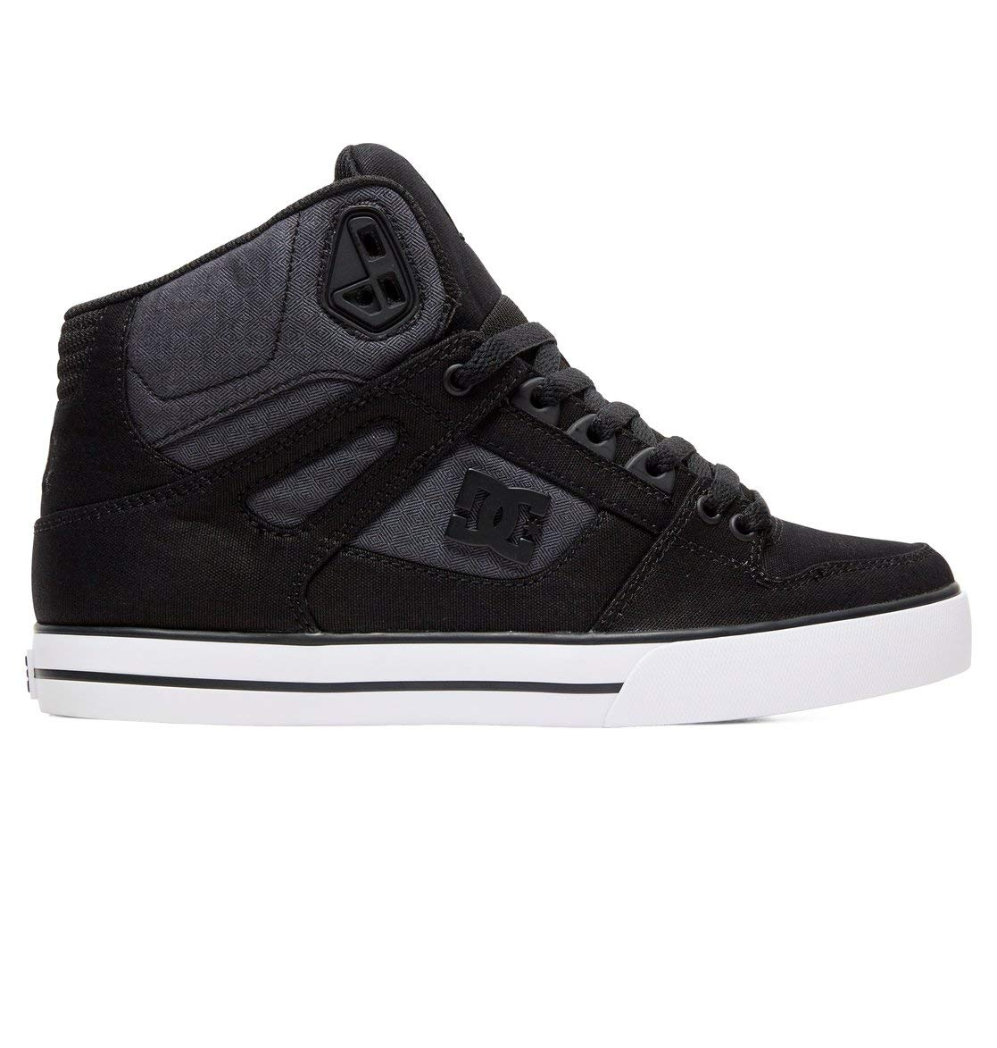 Wc For Dc De HommeNoirblack Pure Se MenChaussures Tx Shoes Eu Used Bkz42 5 Dark high top Skateboard POwkTluXZi