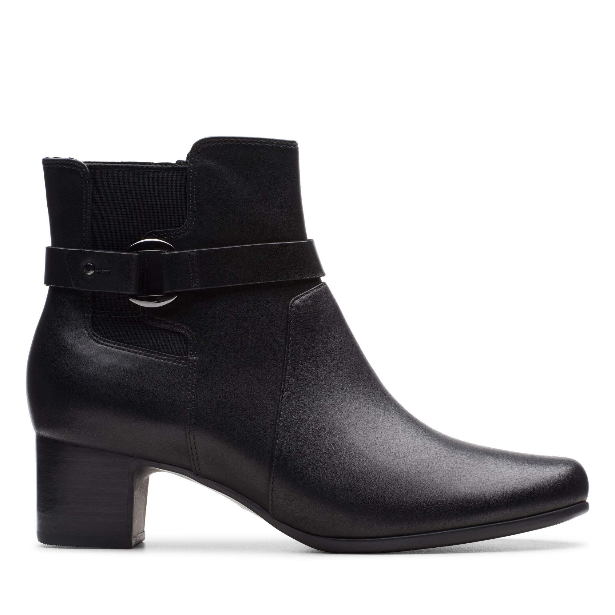 Leather35 Damson 5 Un Clarks FemmeNoir Black MidBotines Eu rCBQdxeoW