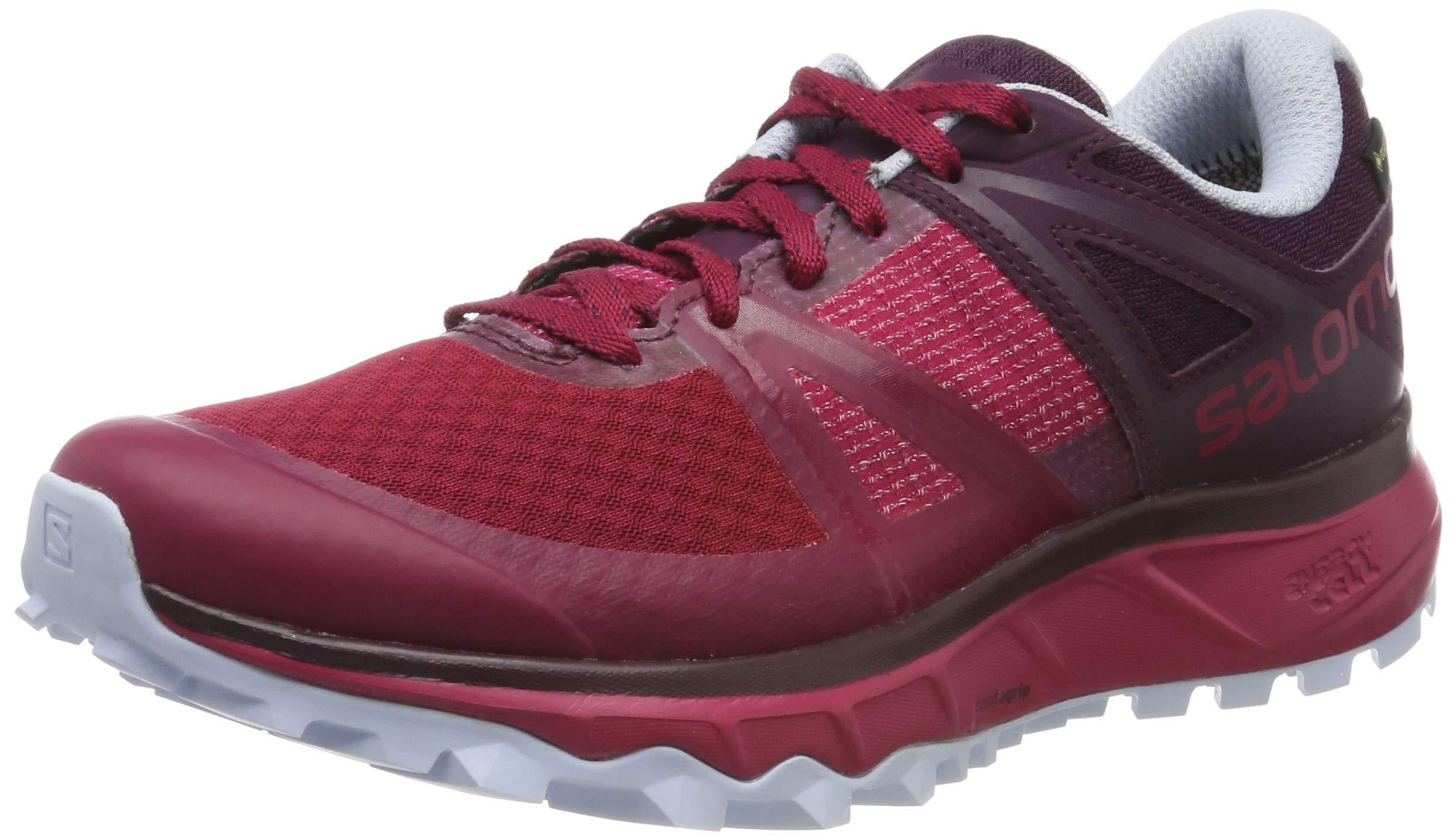 Gtx potent Chaussures 2 Femme Purple heatherPointure36 Salomon 3 WRosecerise RunningTrailster De Trail fYb6gy7
