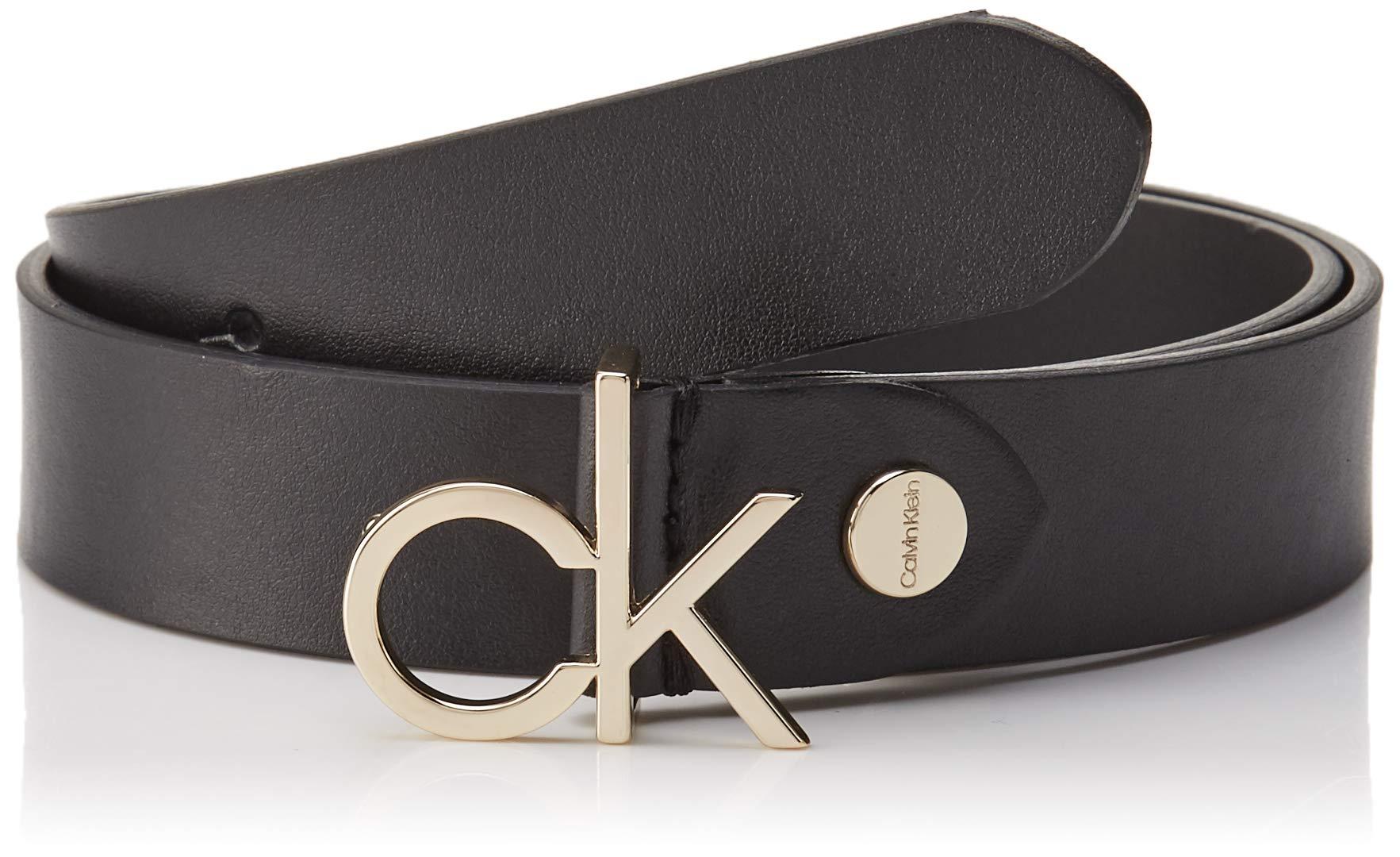 001110taille Adj Calvin Belt Ck Fabricant95Femme Low Klein CeintureNoirblack 3cm buckle OmnN80vw