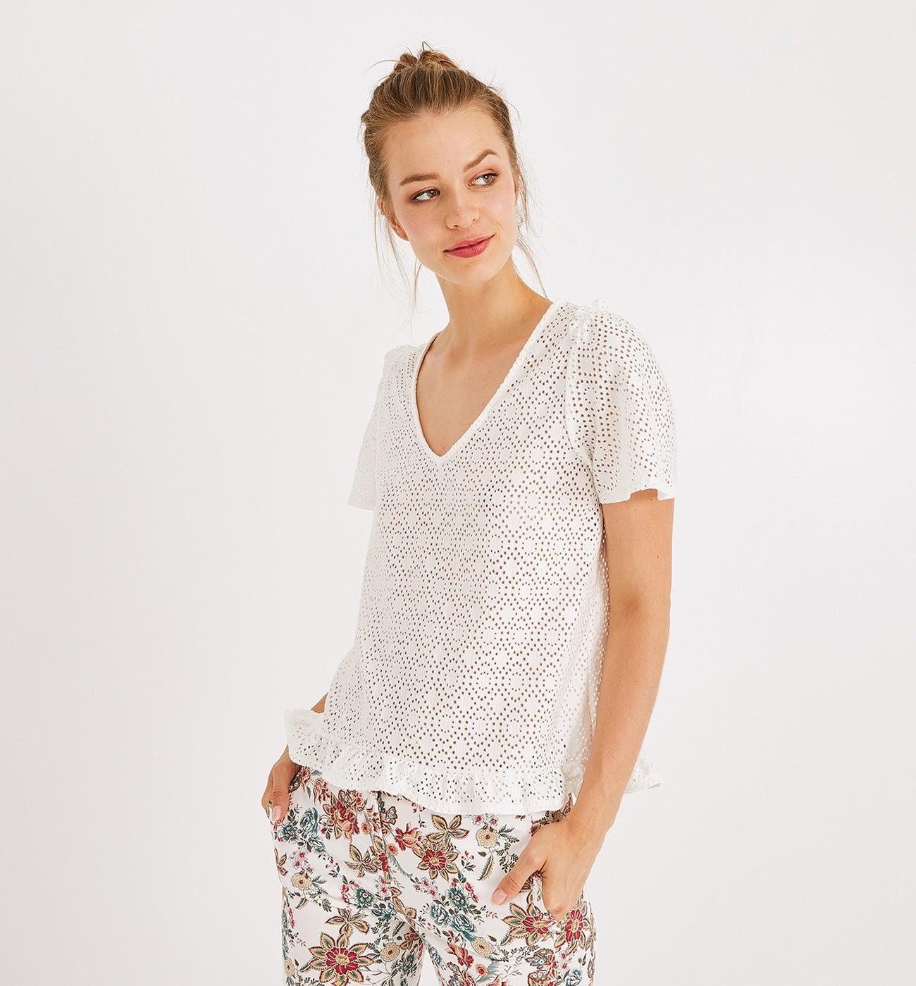 Promod Femme Promod shirt Femme Ajouré Promod Ajouré shirt T T F5KlJ3cuT1