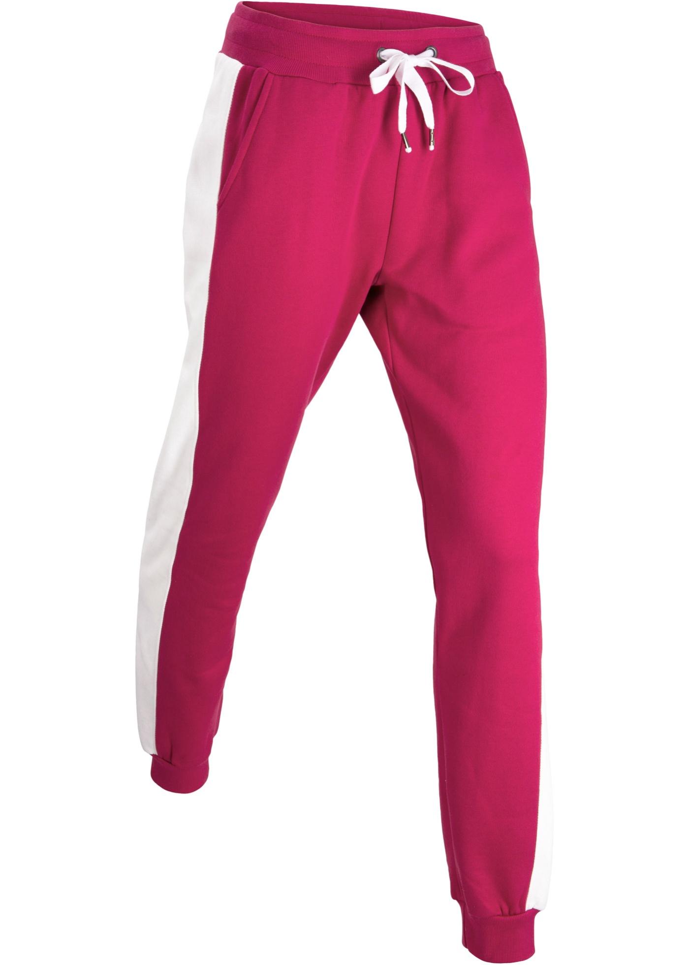 Fuchsia CollectionPantalon 1 En CotonLongNiveau Femme Jogging De Bpc Bonprix Pour 5L4AR3jqSc