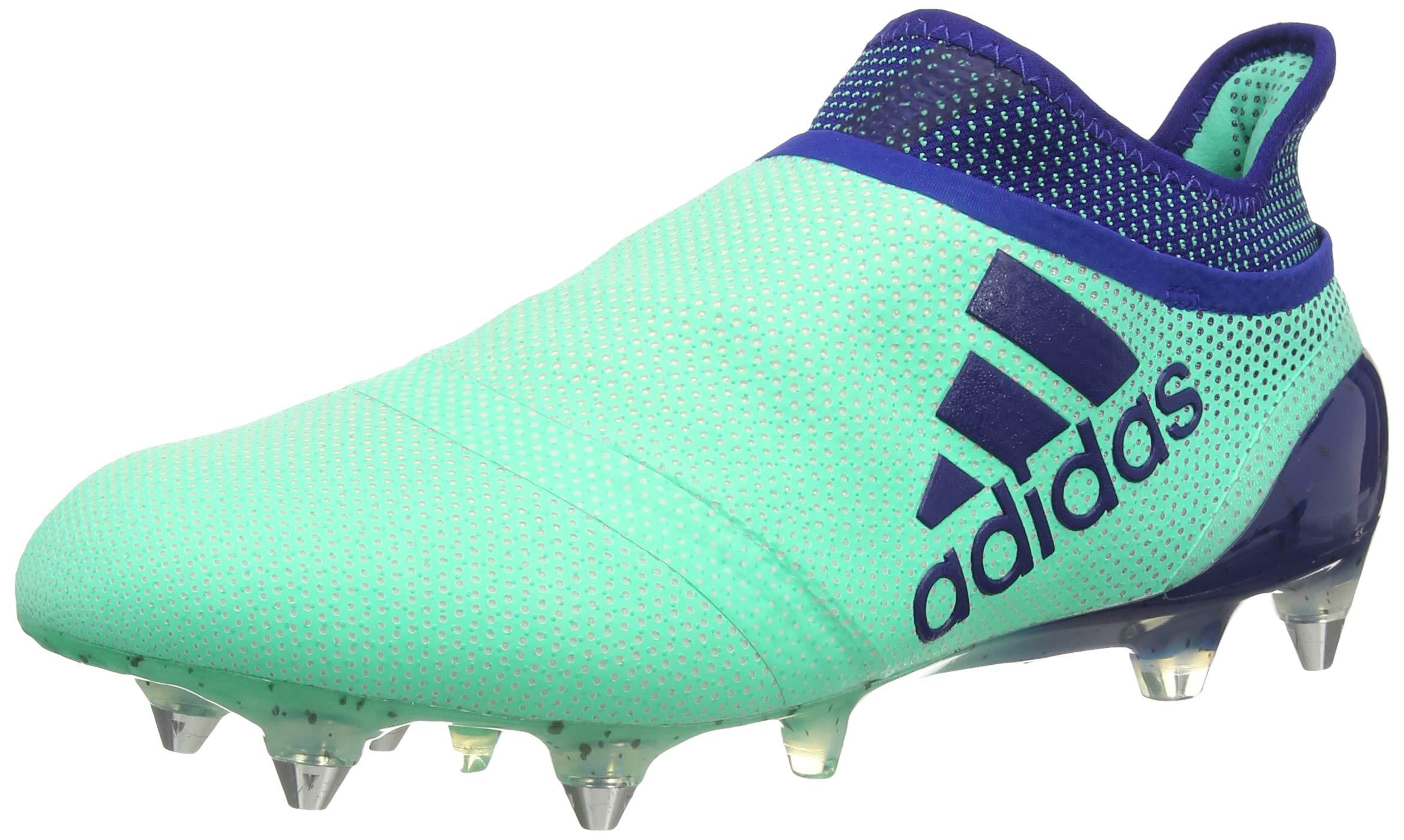 adidas X 17 SG, Chaussures de Football Homme, Vert (Aergrn/Uniink ...