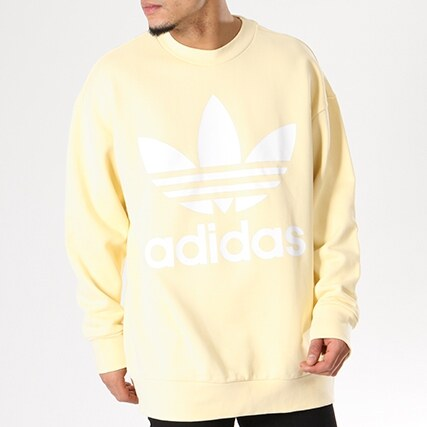 sweat adidas jaune